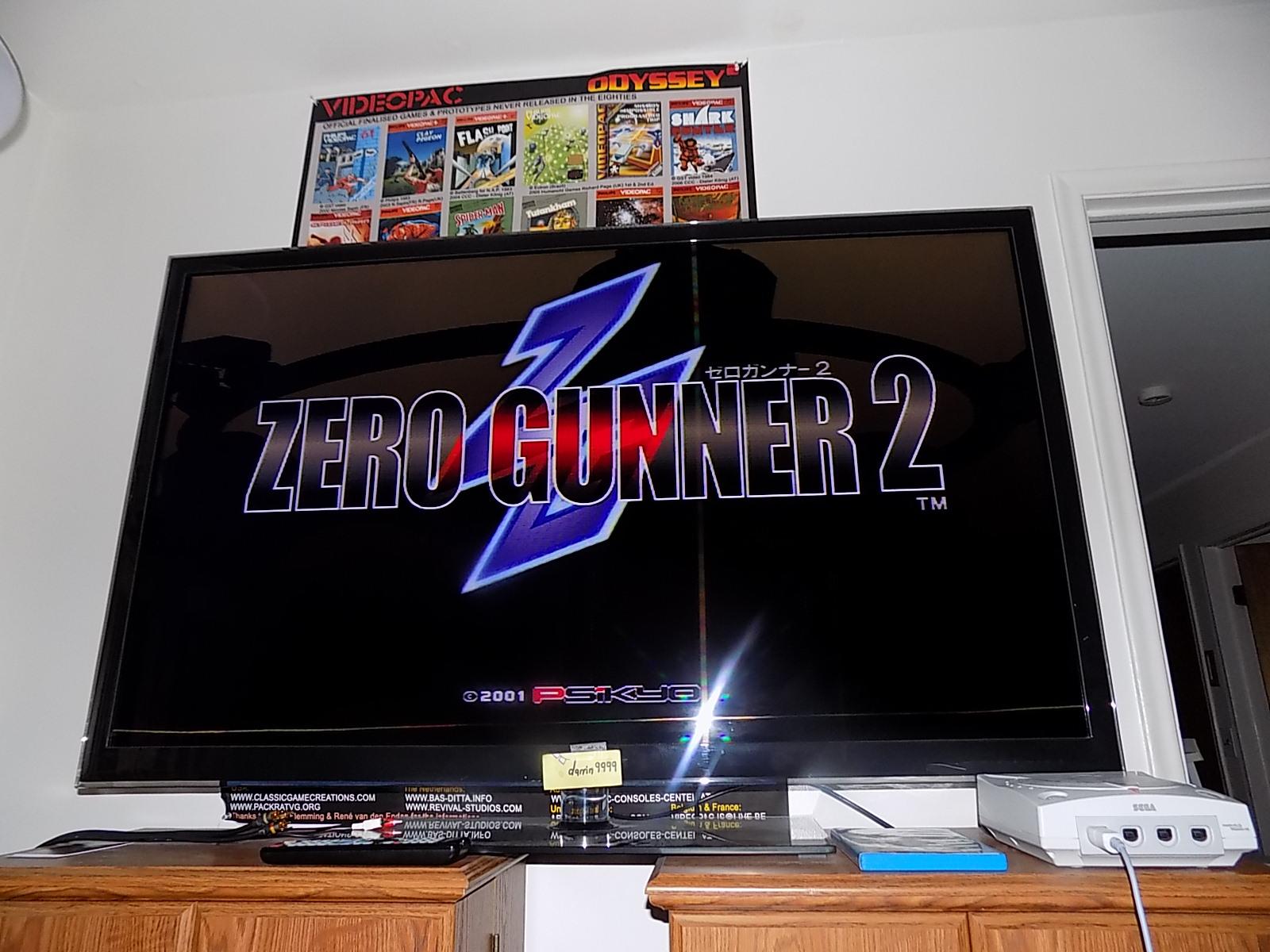 Zero Gunner 2 182,750 points