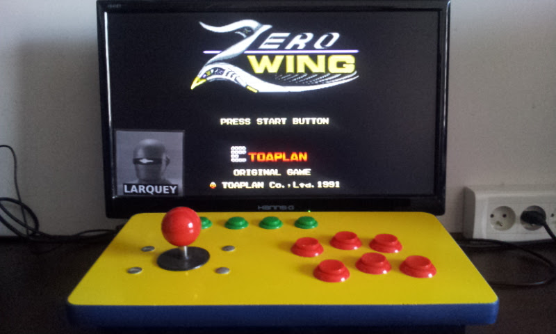 Larquey: Zero Wing (Sega Genesis / MegaDrive Emulated) 411,780 points on 2017-05-06 10:50:21