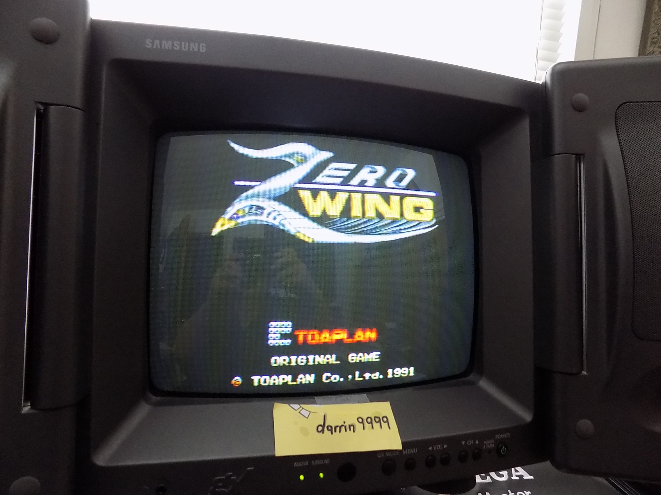 darrin9999: Zero Wing (Sega Genesis / MegaDrive) 291,320 points on 2019-06-05 16:35:57