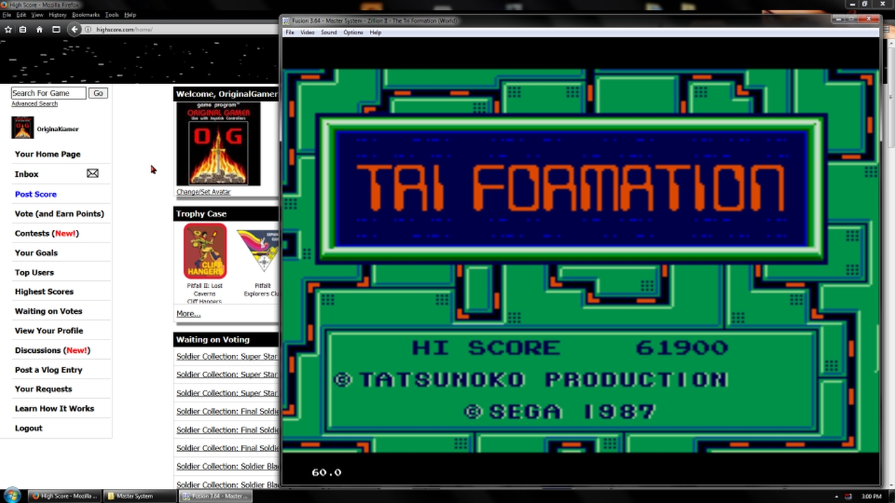 OriginalGamer: Zillion II: The Tri Formation (Sega Master System Emulated) 61,900 points on 2018-02-19 18:42:29