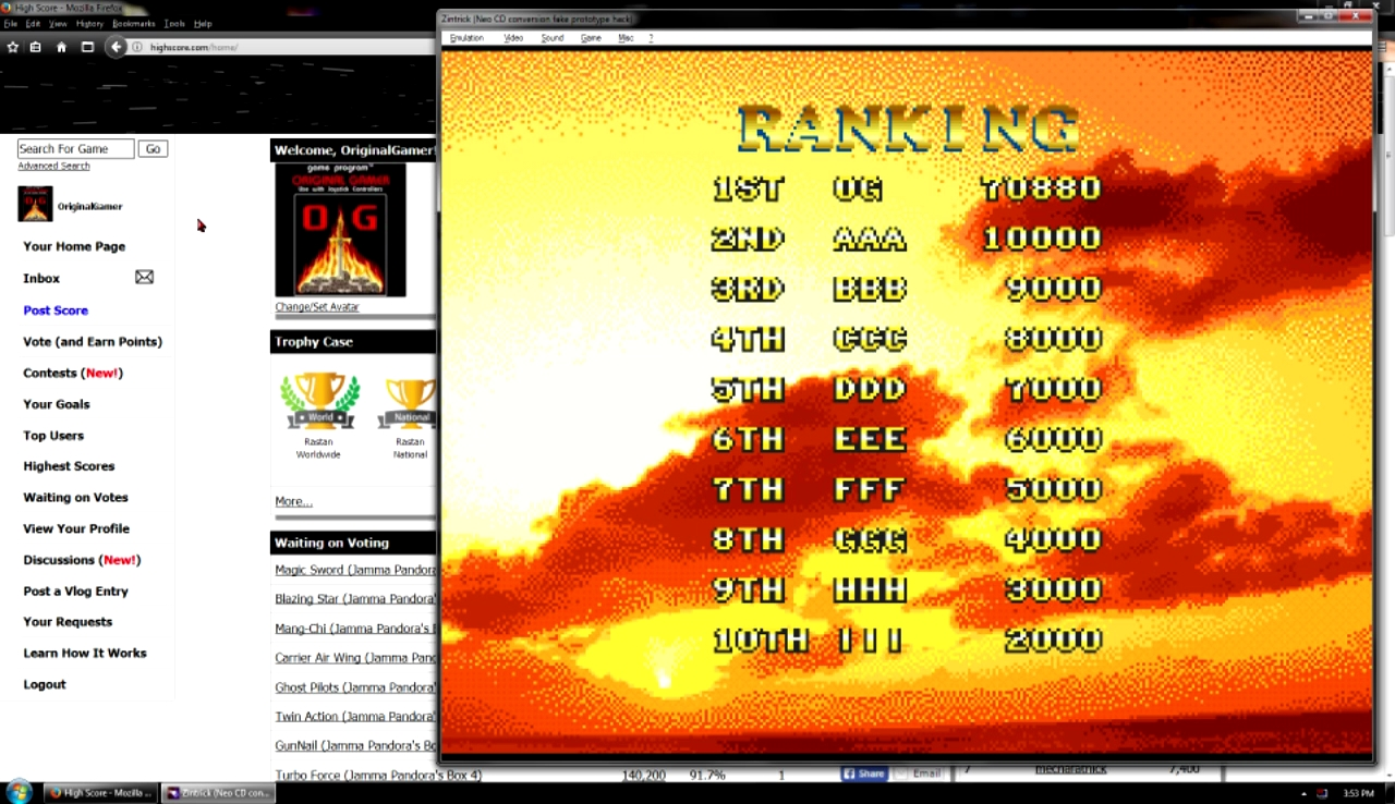 OriginalGamer: Zintrick (Neo Geo Emulated) 70,880 points on 2017-10-29 23:19:34