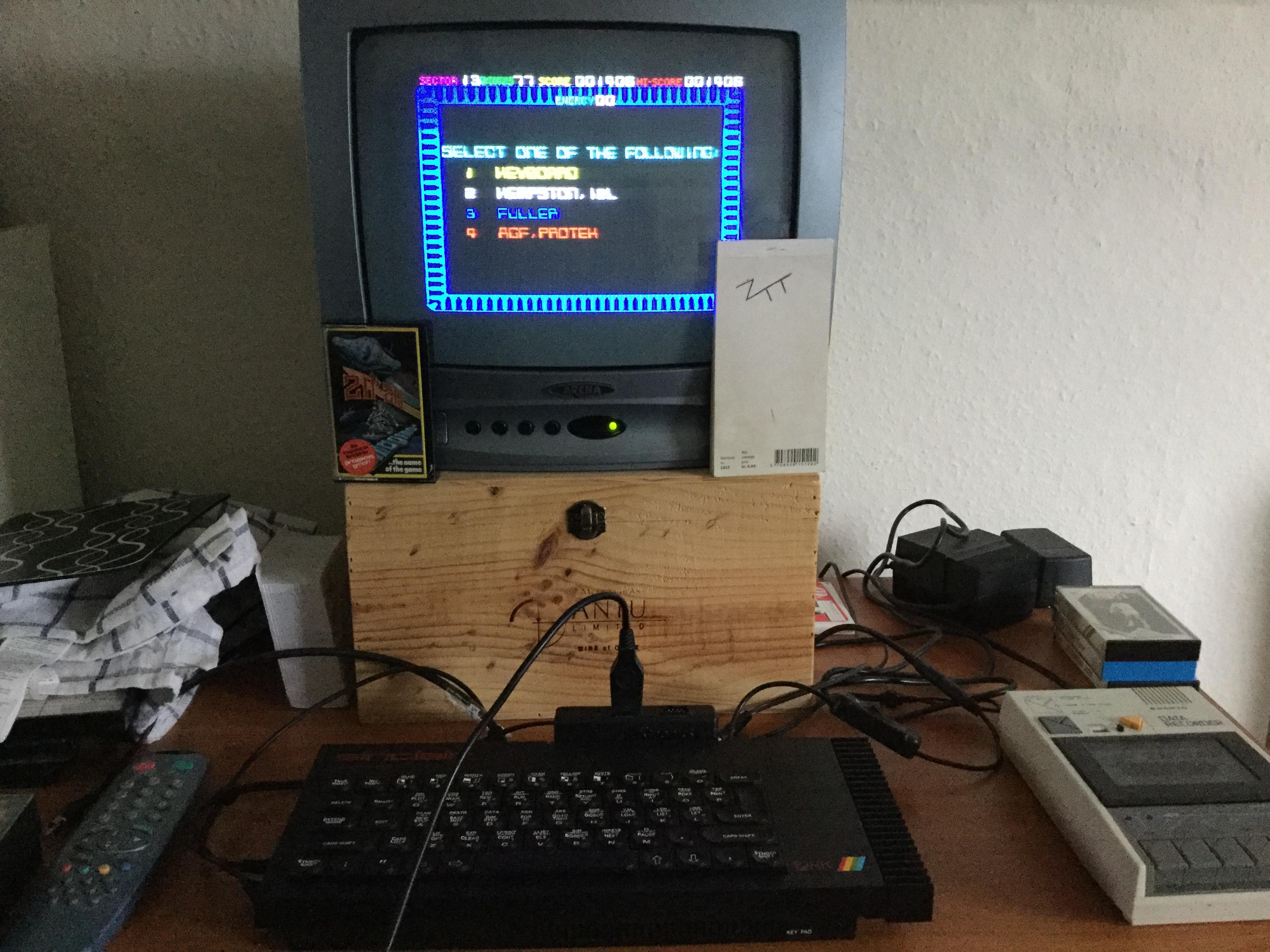 Frankie: Zip-Zap (ZX Spectrum) 1,405 points on 2018-12-26 06:04:38