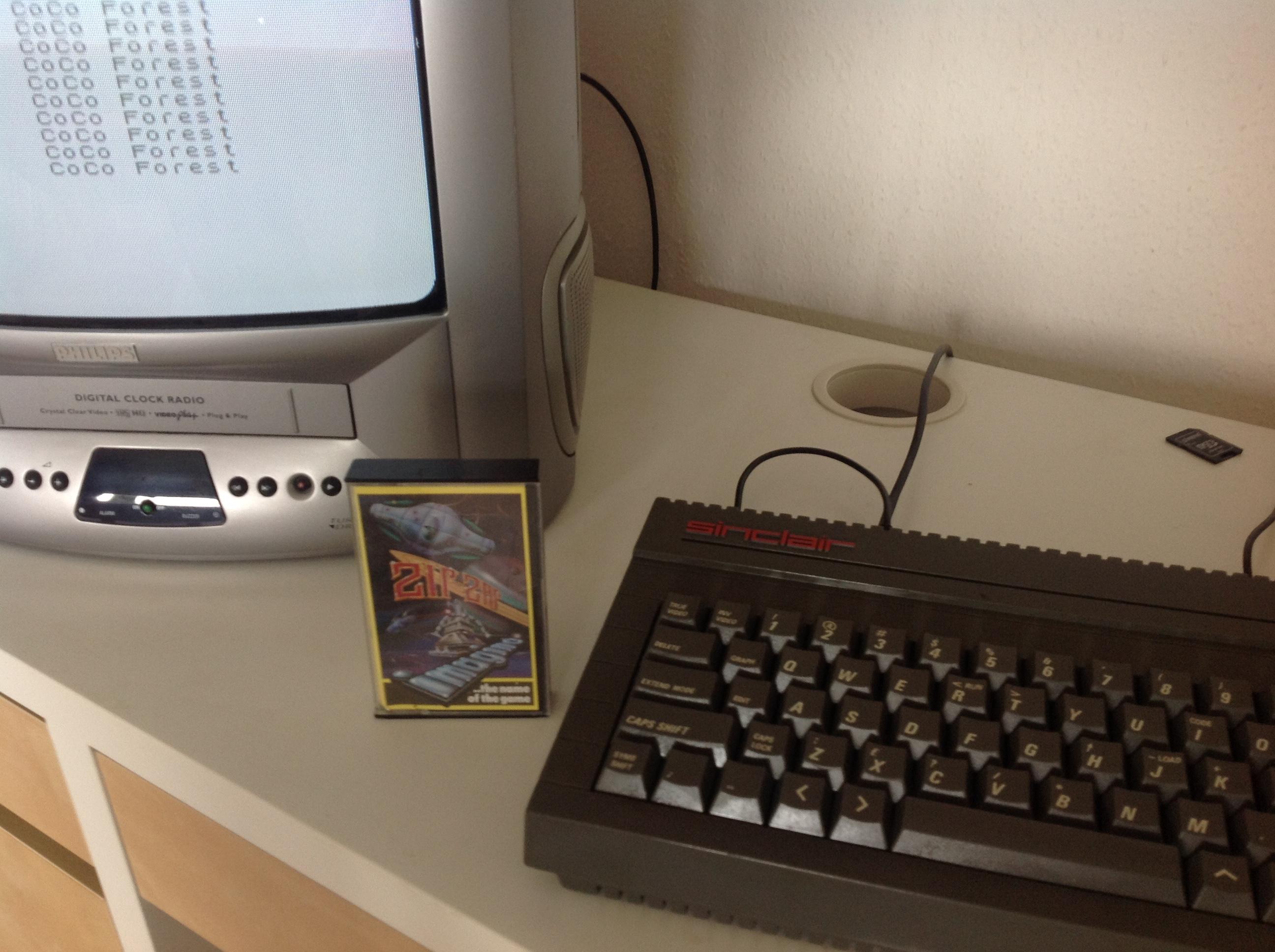 CoCoForest: Zip-Zap (ZX Spectrum) 1,111 points on 2020-07-01 07:30:46