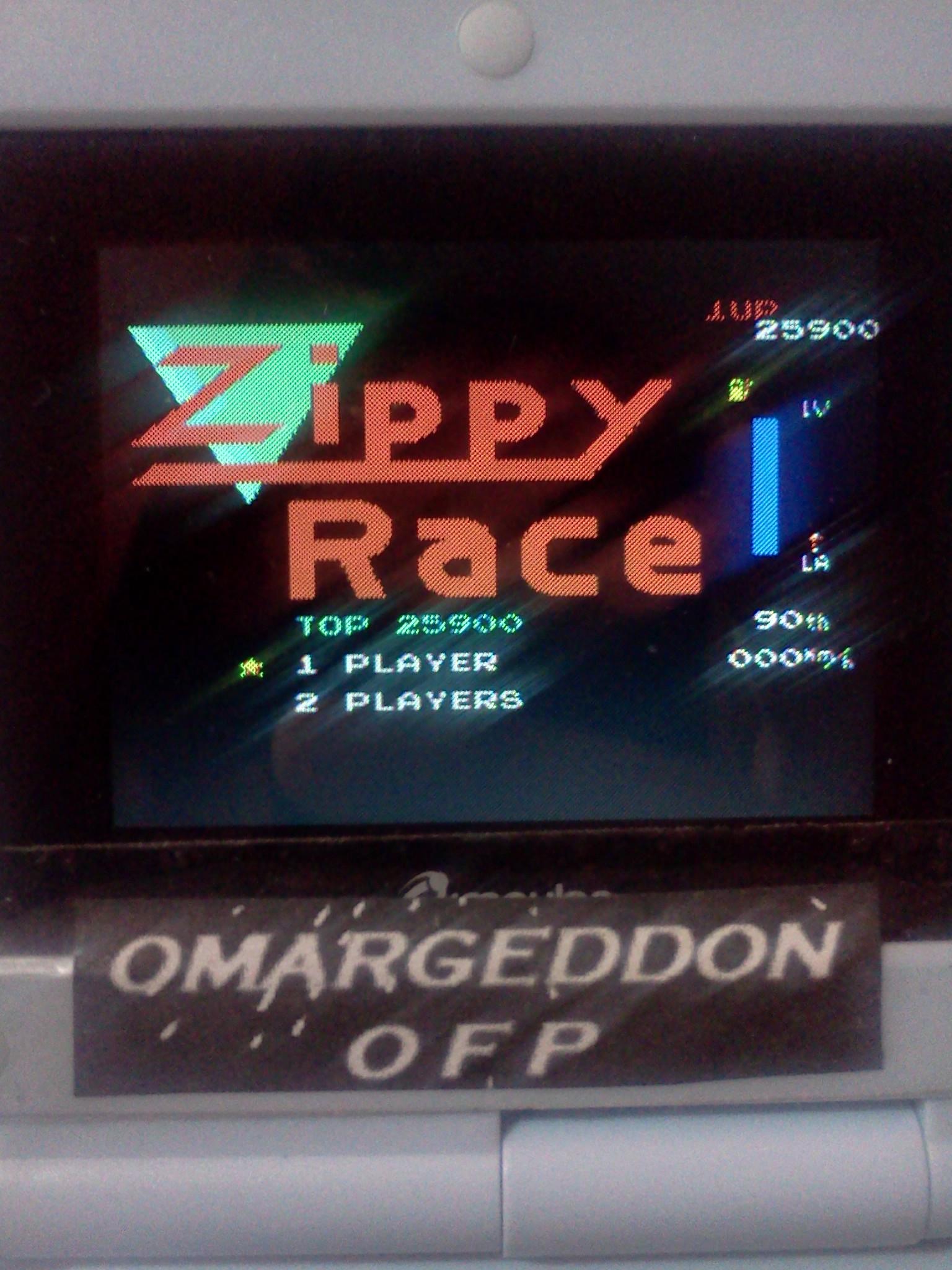omargeddon: Zippy Race / MotoRace U.S.A. (NES/Famicom Emulated) 25,900 points on 2016-07-28 00:38:36