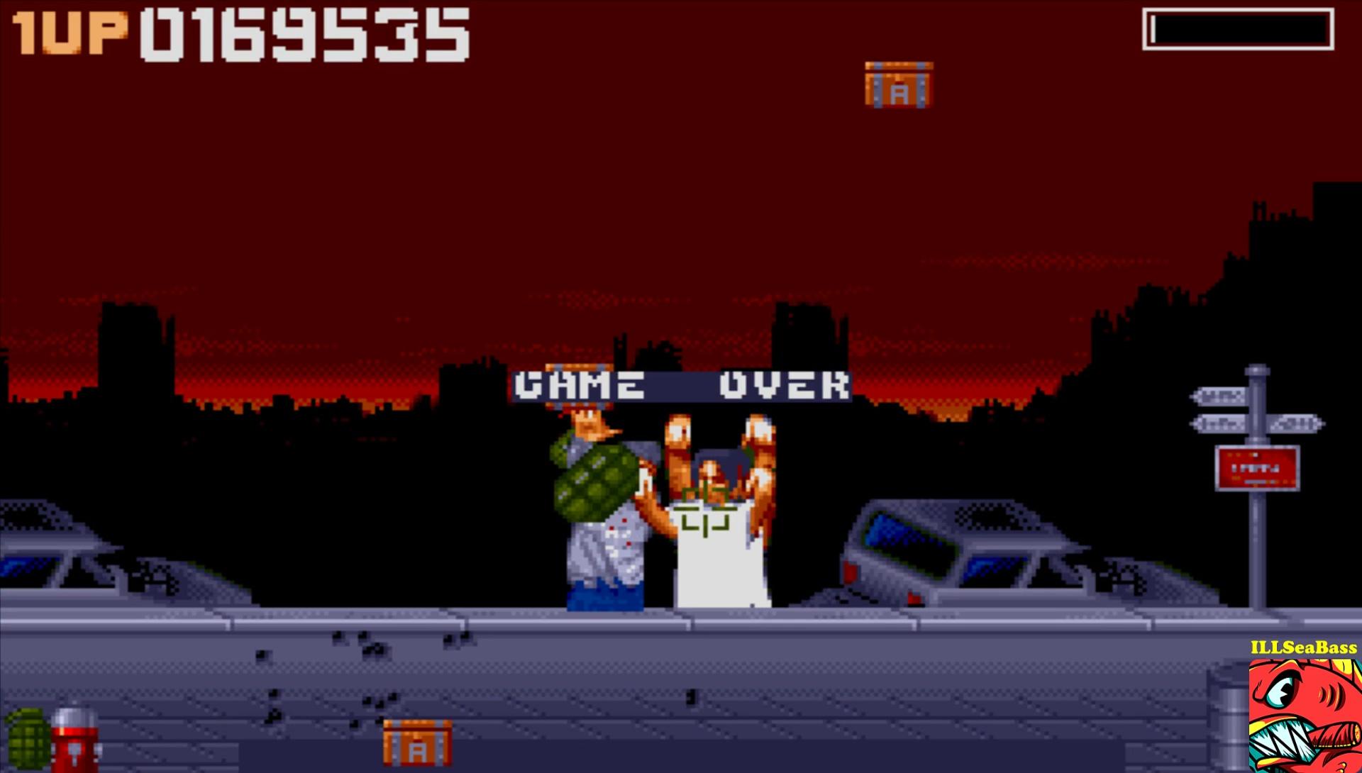 ILLSeaBass: Zombie Apocalypse (Amiga Emulated) 169,535 points on 2017-02-03 19:52:24