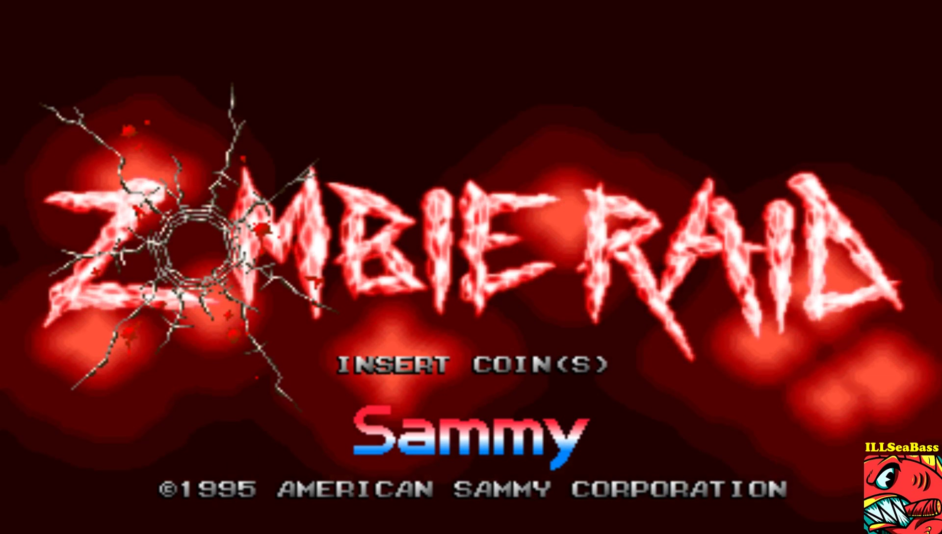 ILLSeaBass: Zombie Raid (Arcade Emulated / M.A.M.E.) 15,860 points on 2017-02-20 20:38:37