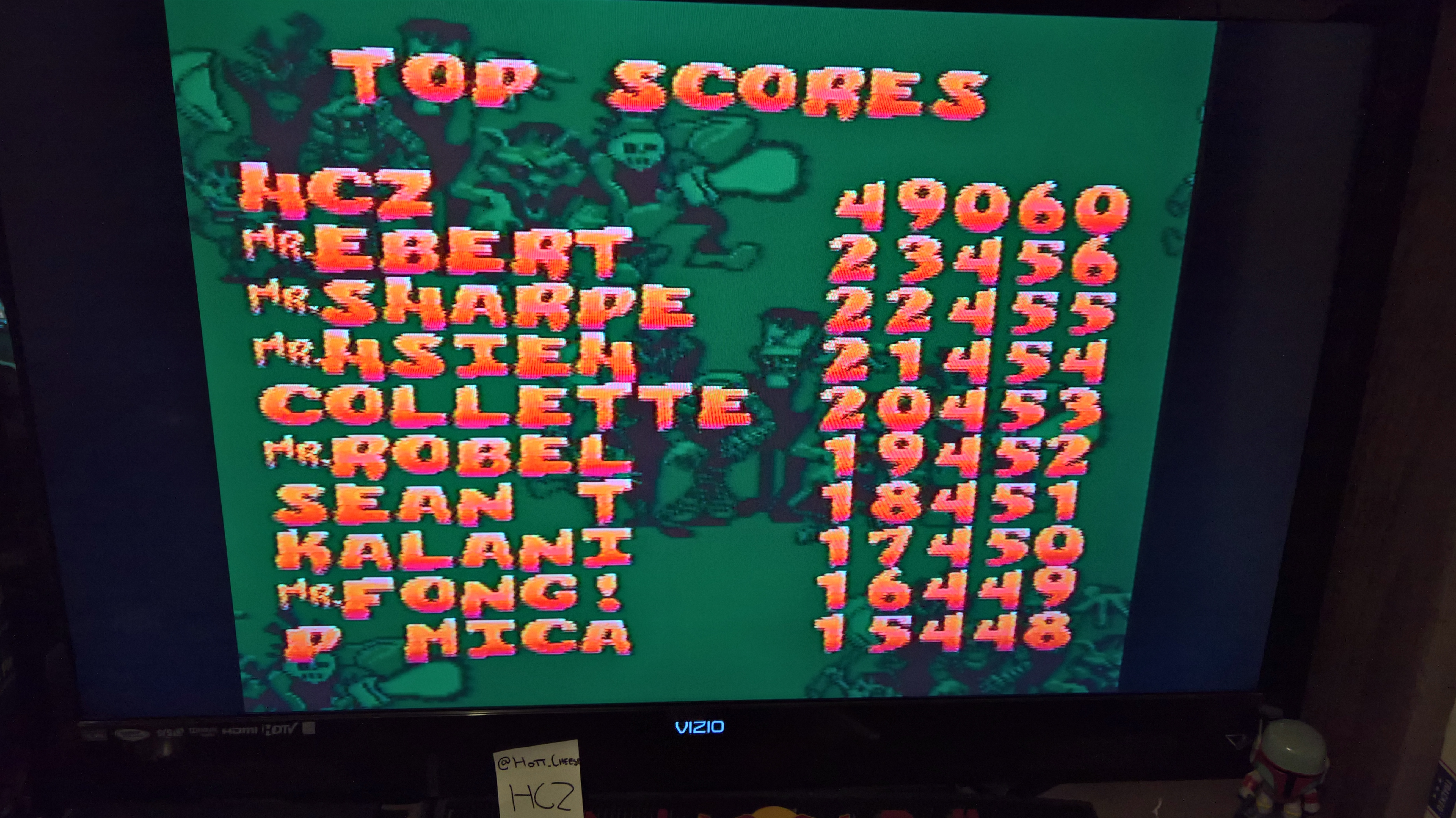 HottCheese: Zombies Ate My Neighbors (SNES/Super Famicom) 49,060 points on 2016-06-26 15:54:11