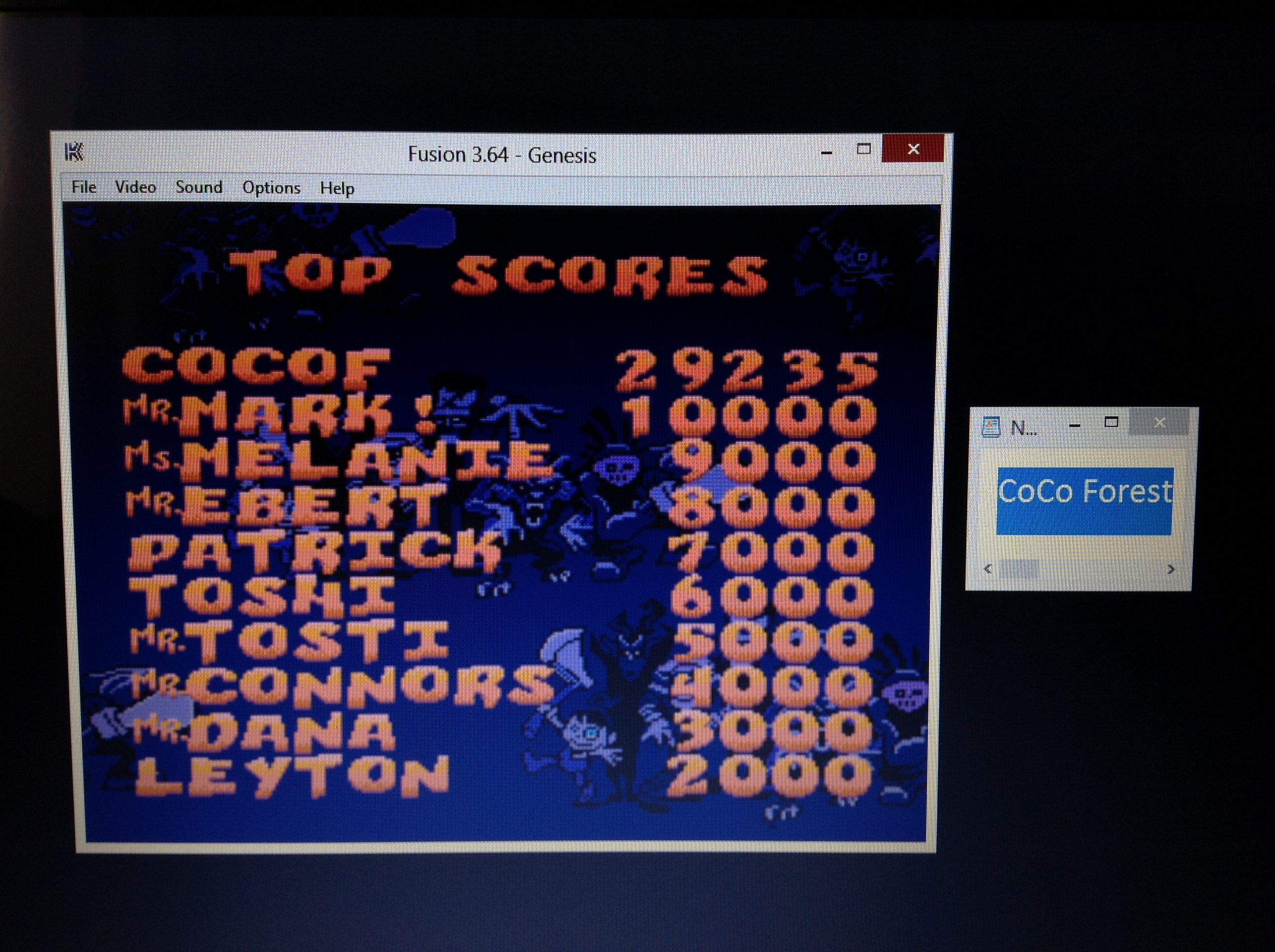 CoCoForest: Zombies Ate My Neighbors (Sega Genesis / MegaDrive Emulated) 29,235 points on 2019-04-16 09:17:38