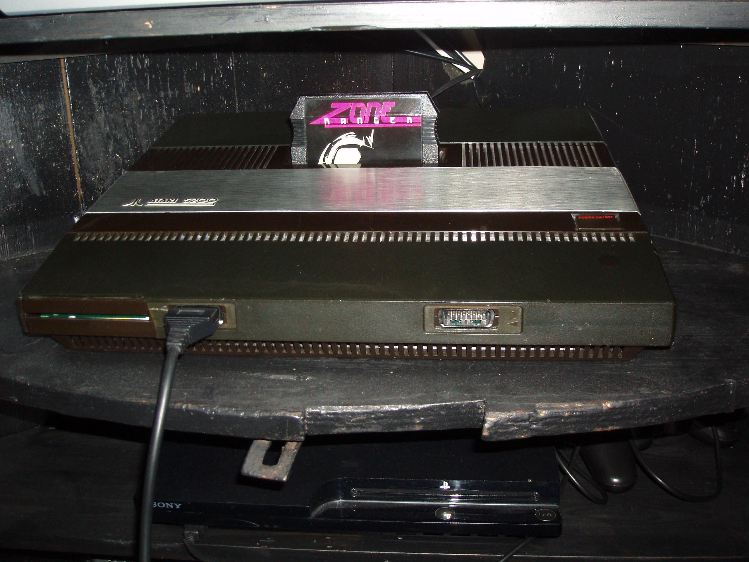 atari2600forever: Zone Ranger (Atari 5200) 7,554 points on 2019-03-20 11:57:44