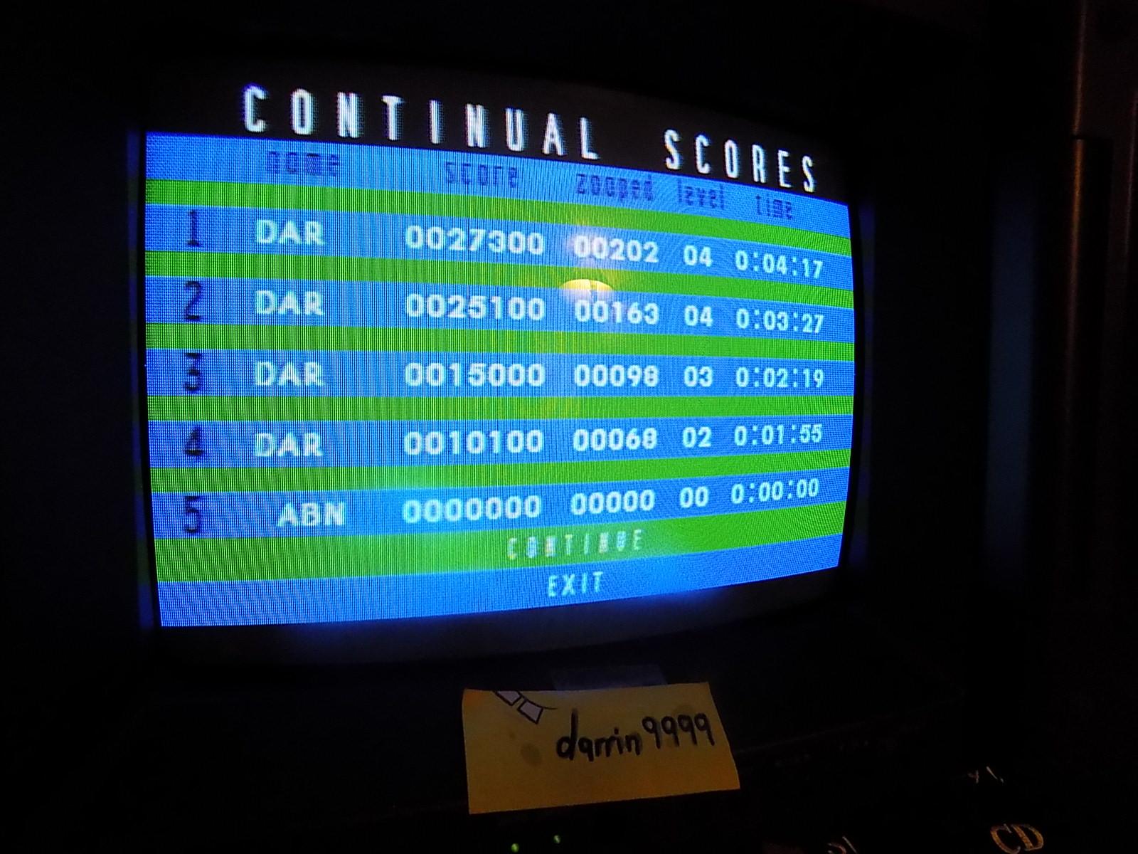 darrin9999: Zoop: Continual Mode (Atari Jaguar) 27,300 points on 2019-11-03 21:06:48