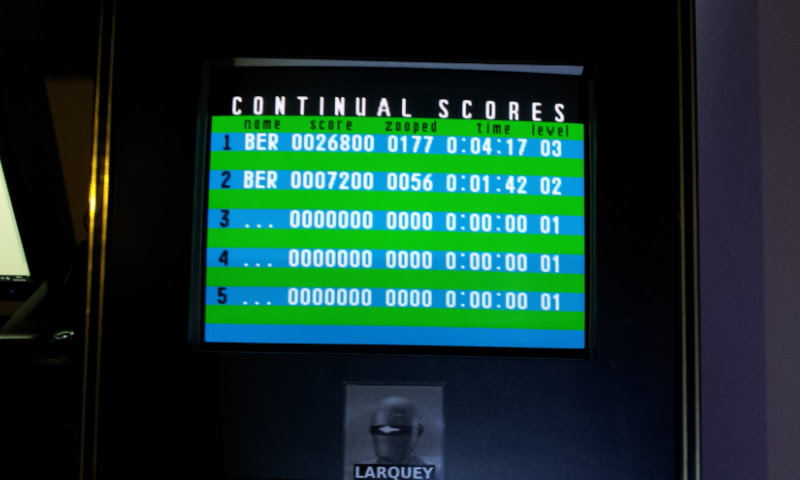 Larquey: Zoop: Continual Mode [Difficulty 1 / Level 1 Start] (SNES/Super Famicom Emulated) 26,800 points on 2018-01-26 10:02:10