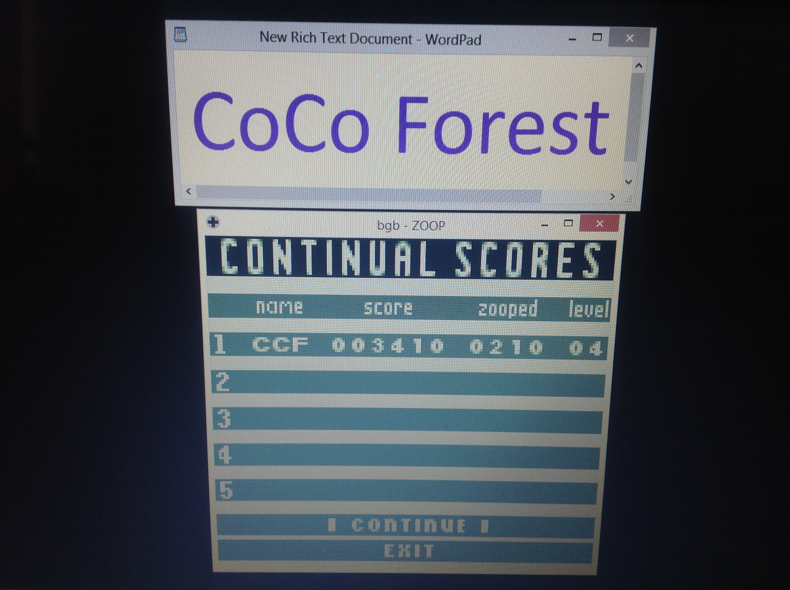 CoCoForest: Zoop [Continual Mode] (Game Boy Emulated) 3,410 points on 2018-10-01 12:08:45