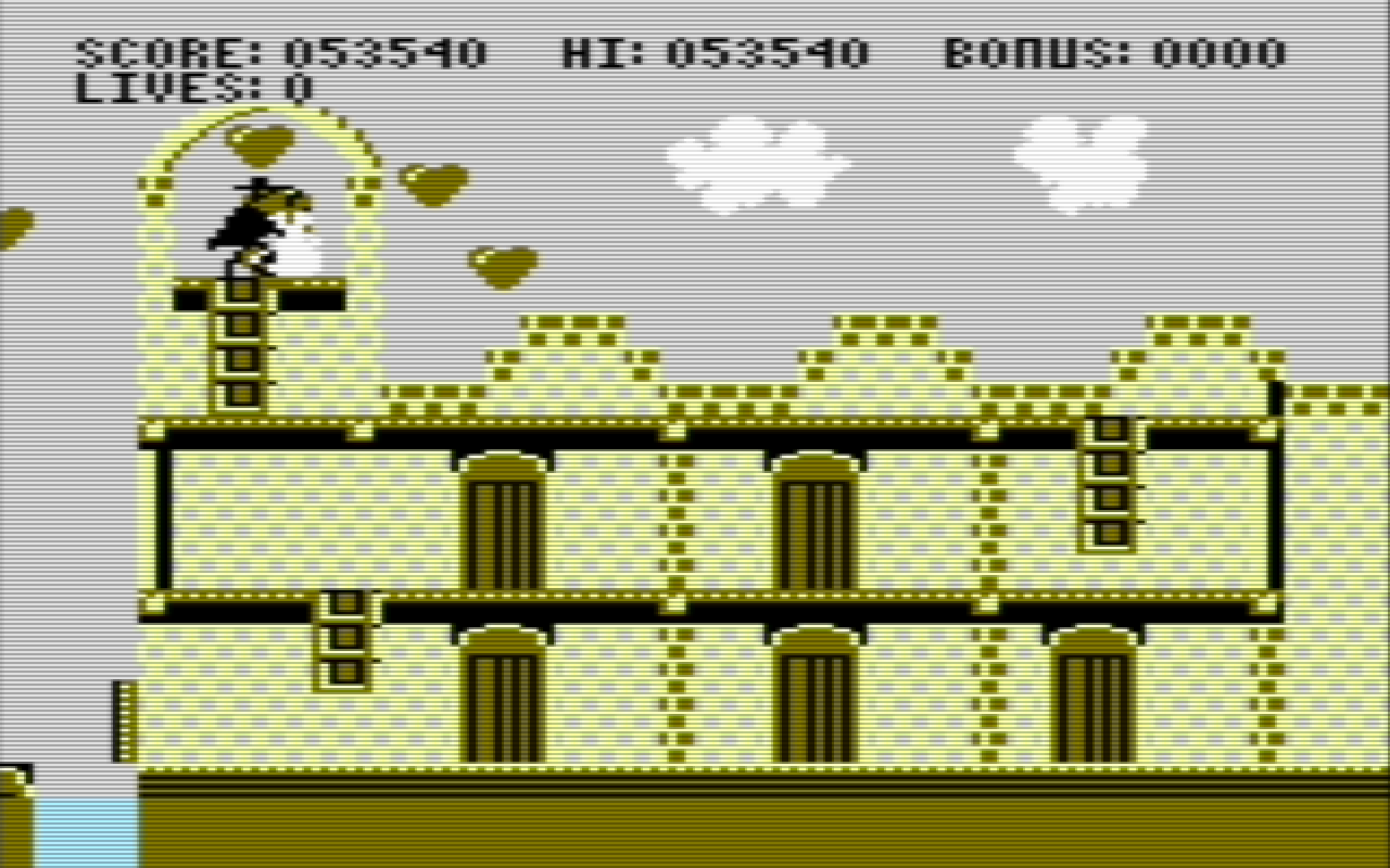 Hyeron: Zorro (Commodore 64 Emulated) 53,540 points on 2019-07-06 11:46:13