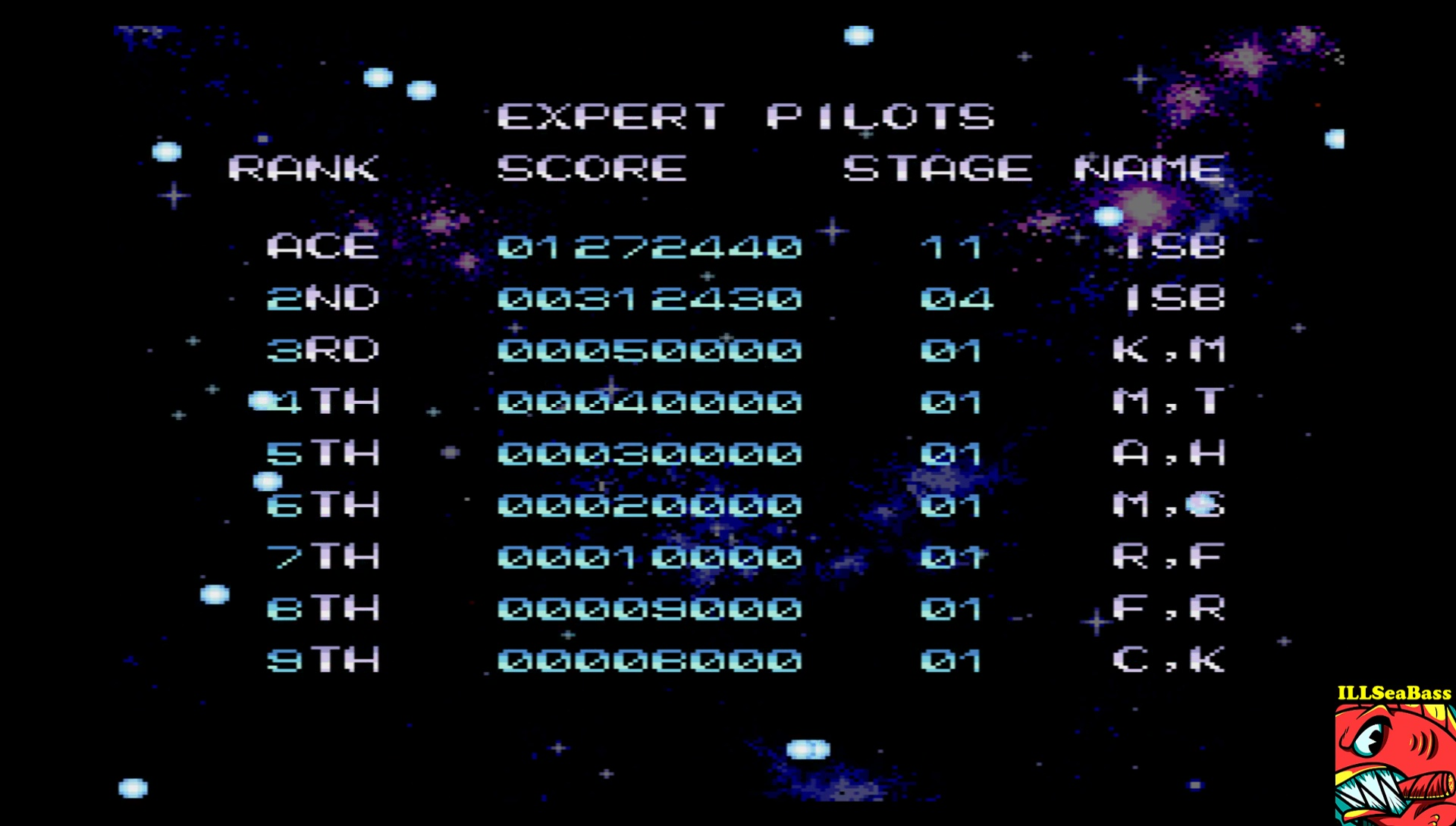 ILLSeaBass: Zugya [Score Attack] (Sharp X68000 Emulated) 1,272,440 points on 2017-06-28 21:00:54