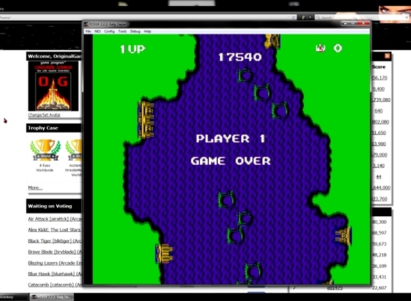 OriginalGamer: Zunou Senkan Galg (NES/Famicom Emulated) 17,540 points on 2015-06-19 12:12:18