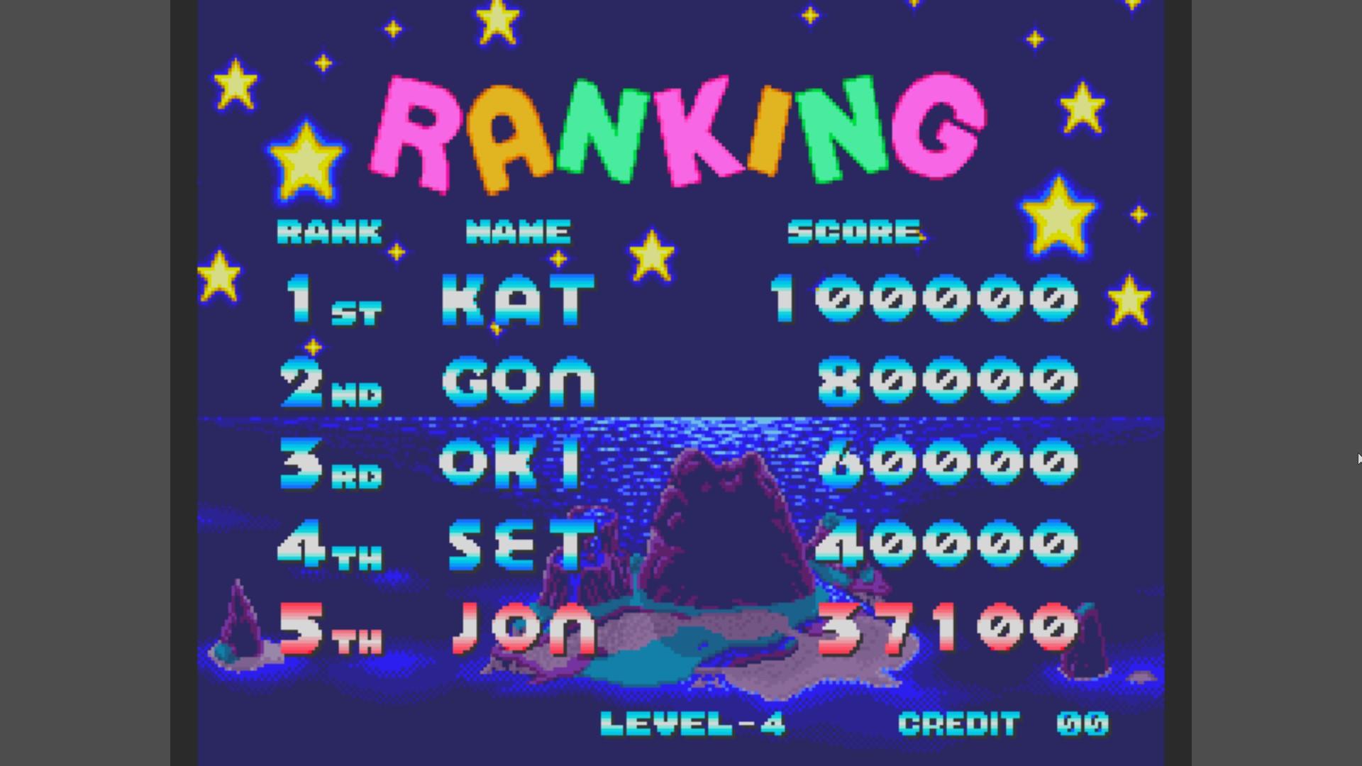 AkinNahtanoj: Zupapa! (Arcade Emulated / M.A.M.E.) 37,100 points on 2020-12-28 00:27:48