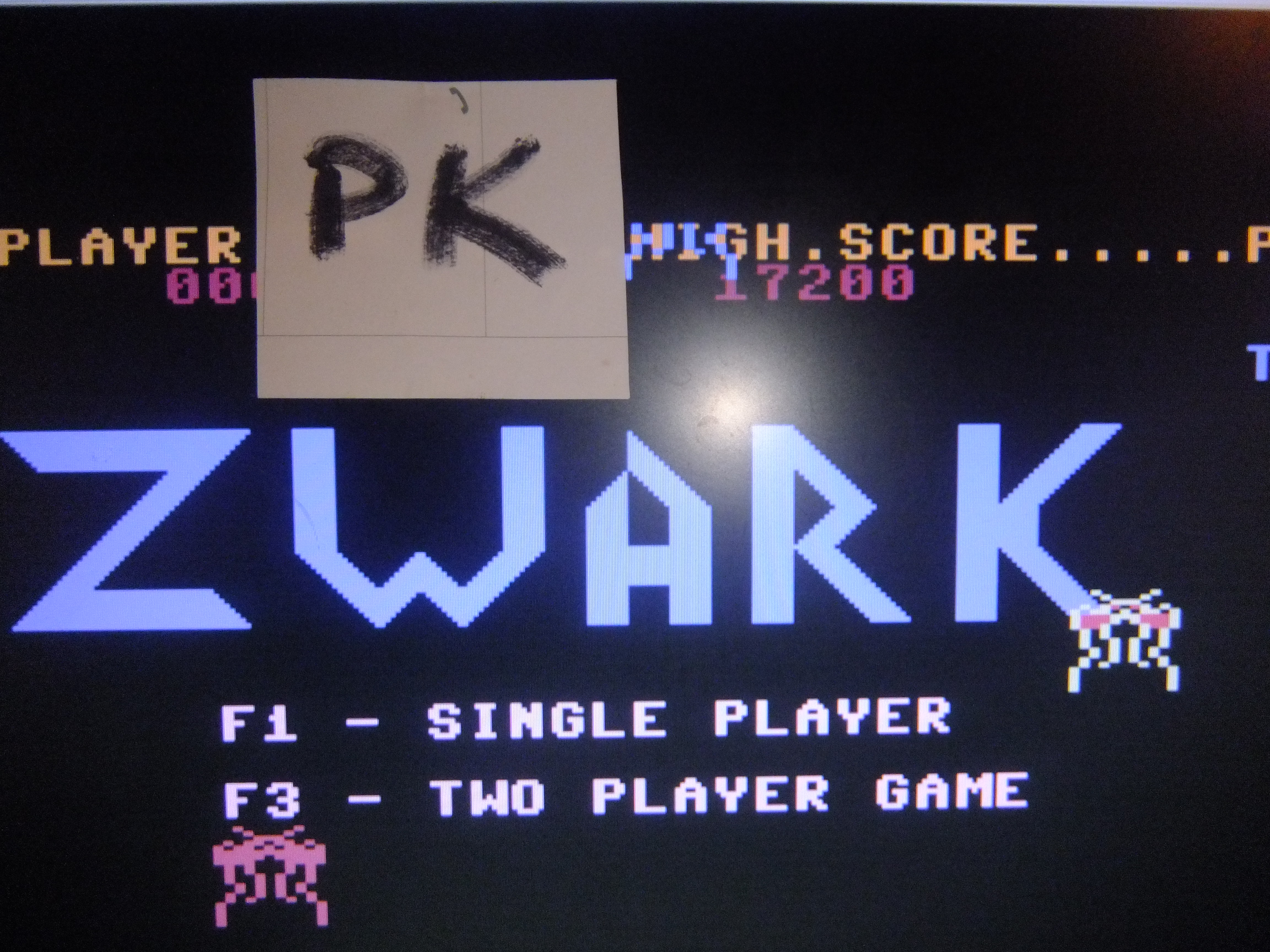 kernzy: Zwark (Commodore 64 Emulated) 17,200 points on 2015-11-16 13:13:01