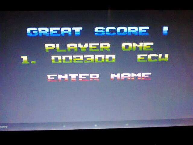ecworiginal: Zybex (Atari 400/800/XL/XE Emulated) 2,300 points on 2016-04-29 14:19:42