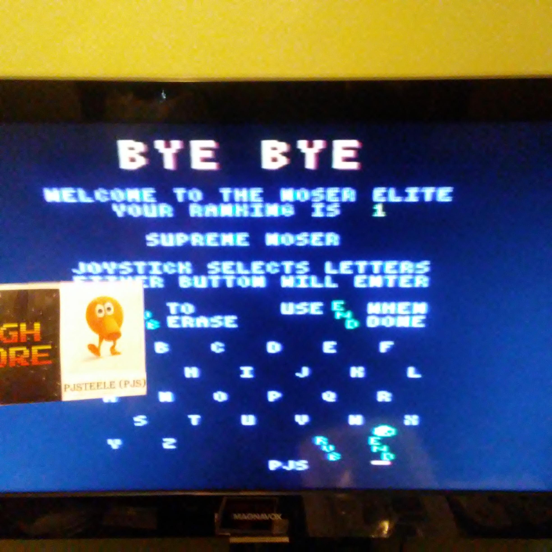 Pjsteele: b*nQ: Easy (Atari 7800) 32,530 points on 2018-07-05 15:27:30