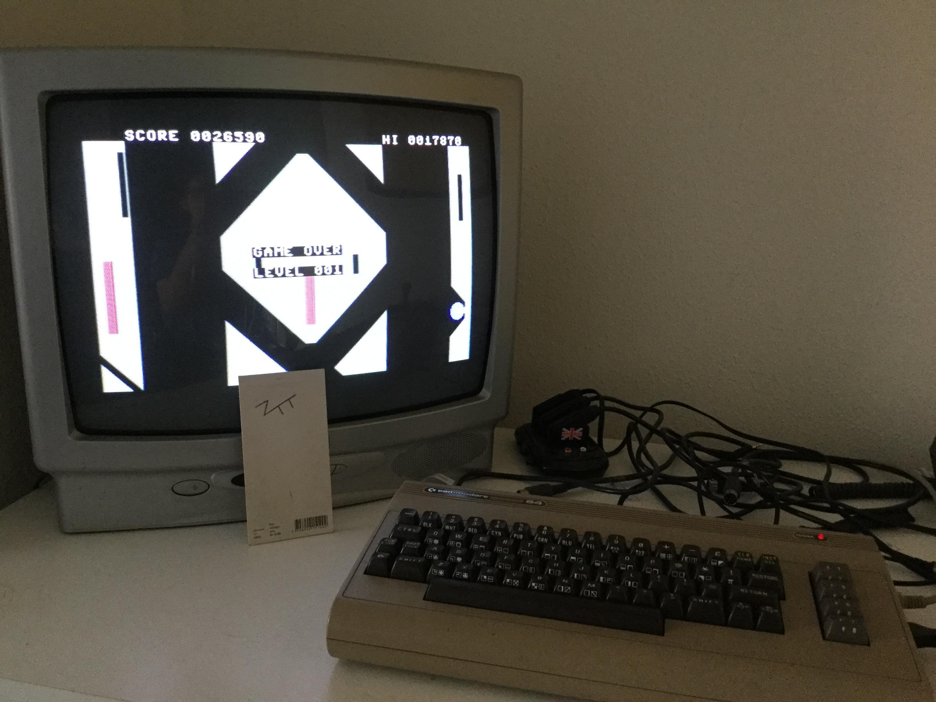 Frankie: dark star (Commodore 64) 26,590 points on 2017-04-23 11:32:26