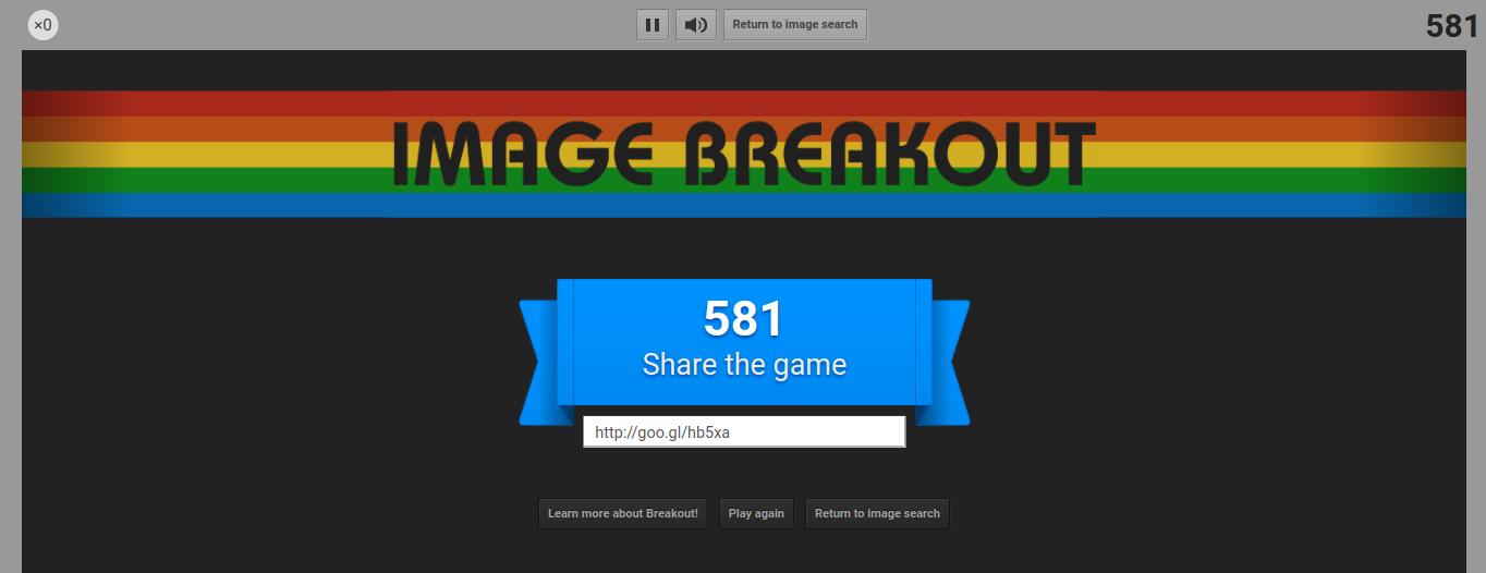 google atari breakout 581 points