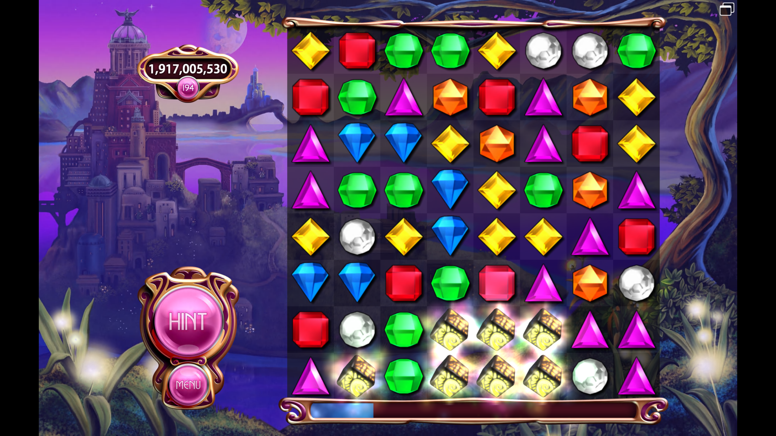 BrassRat: Bejeweled 3 [Classic] (PC) 1,909,184,590 points on 2015-06-21 14:21:58