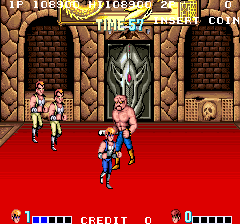 Double Dragon 114,140 points