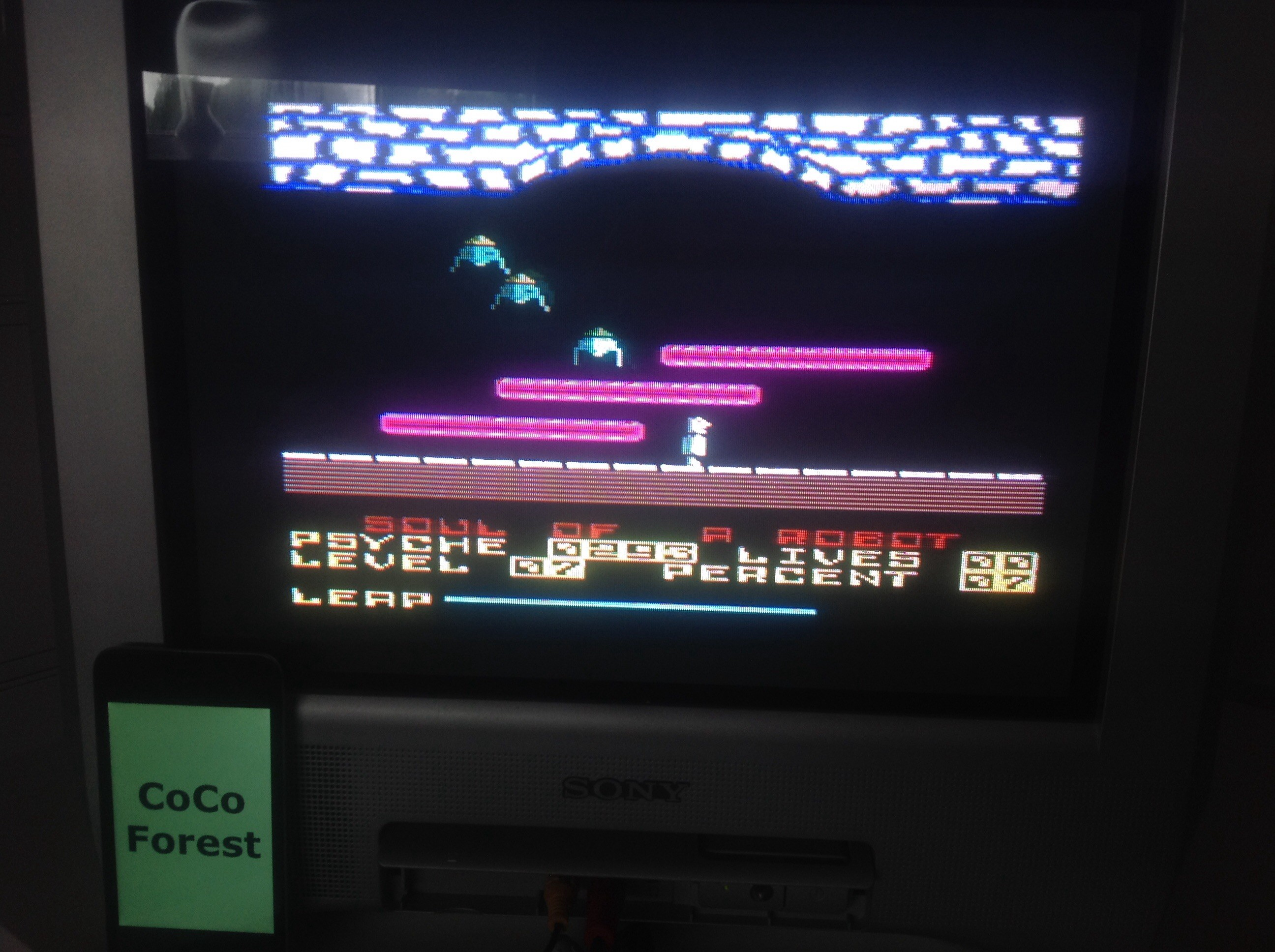 CoCoForest: Soul Of A Robot (Amstrad CPC) 7 points on 2015-06-22 07:35:45