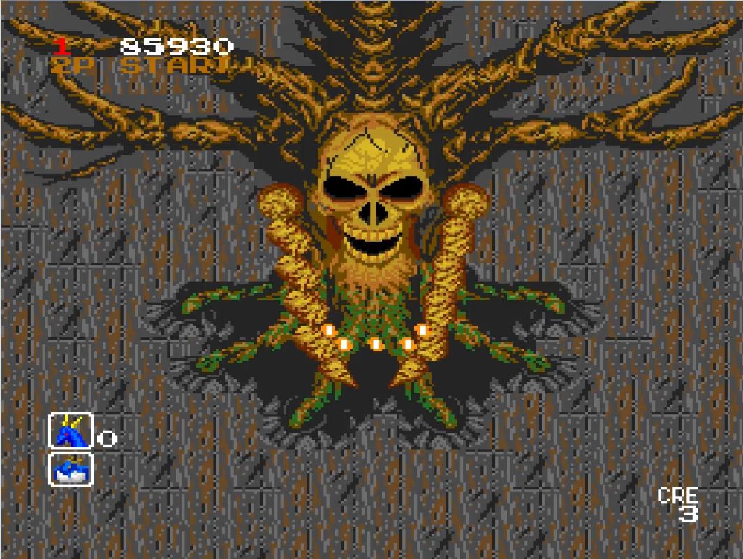 Mantalow: Dragon Saber (TurboGrafx-16/PC Engine Emulated) 85,930 points on 2015-06-23 12:22:59
