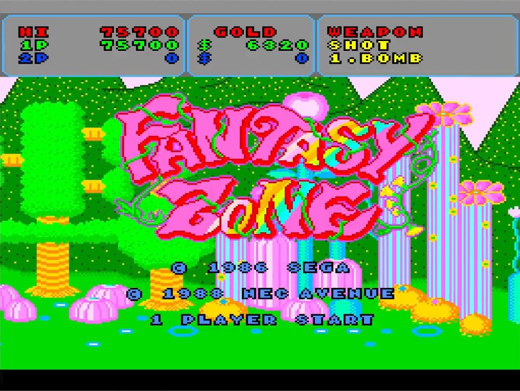 Mantalow: Fantasy Zone (TurboGrafx-16/PC Engine Emulated) 75,700 points on 2015-06-23 14:59:40