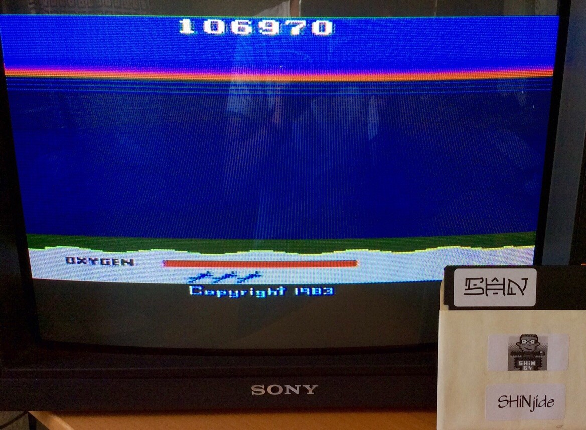 Seaquest: Game 1 106,970 points