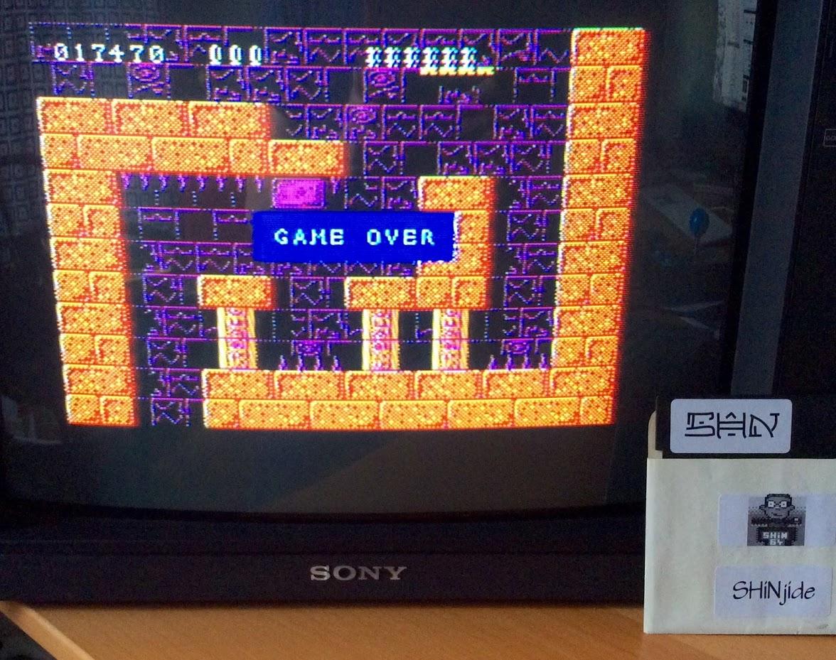 SHiNjide: Rick Dangerous (ZX Spectrum) 17,470 points on 2015-06-24 12:44:23