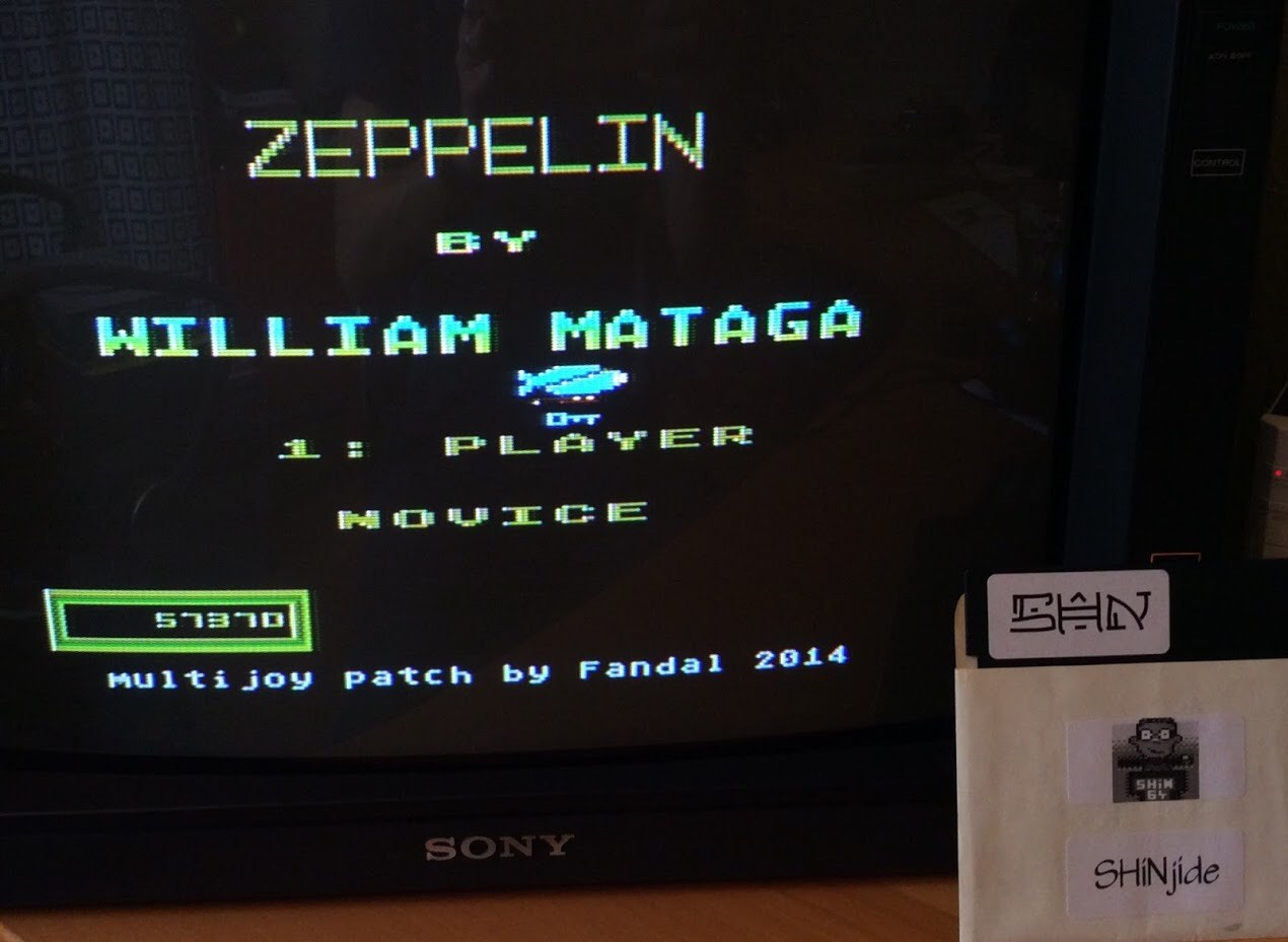 SHiNjide: Zeppelin (Atari 400/800/XL/XE) 57,370 points on 2015-06-25 09:38:07