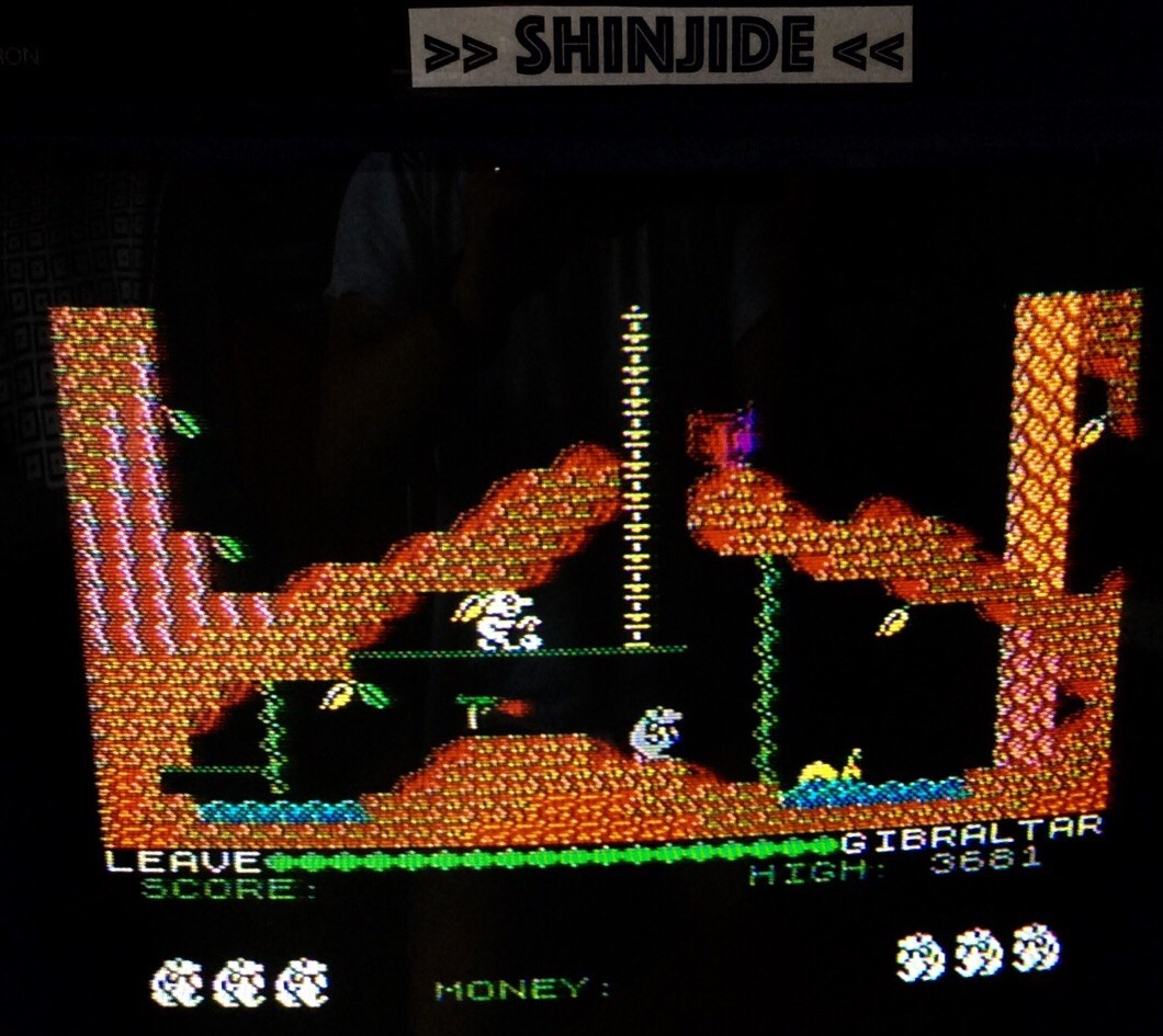 SHiNjide: Auf Wiedersehen Monty (ZX Spectrum) 3,681 points on 2015-06-26 05:32:26