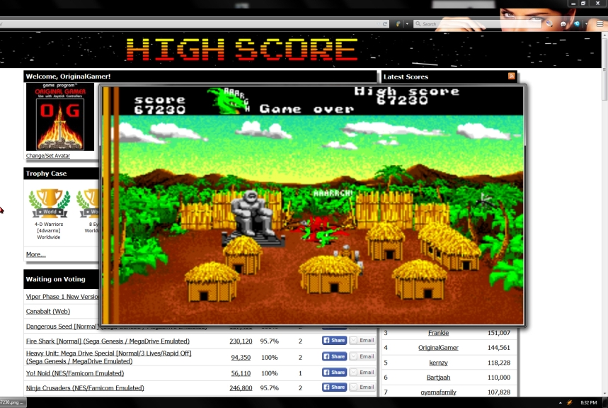 OriginalGamer: AAARGH! (Amiga Emulated) 67,230 points on 2015-06-26 10:14:46