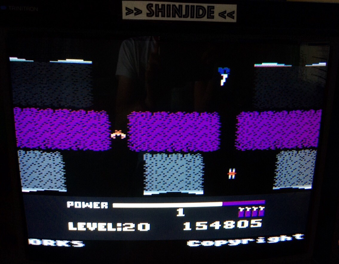 SHiNjide: H.E.R.O. (Atari 400/800/XL/XE Emulated) 154,805 points on 2015-06-26 11:40:20