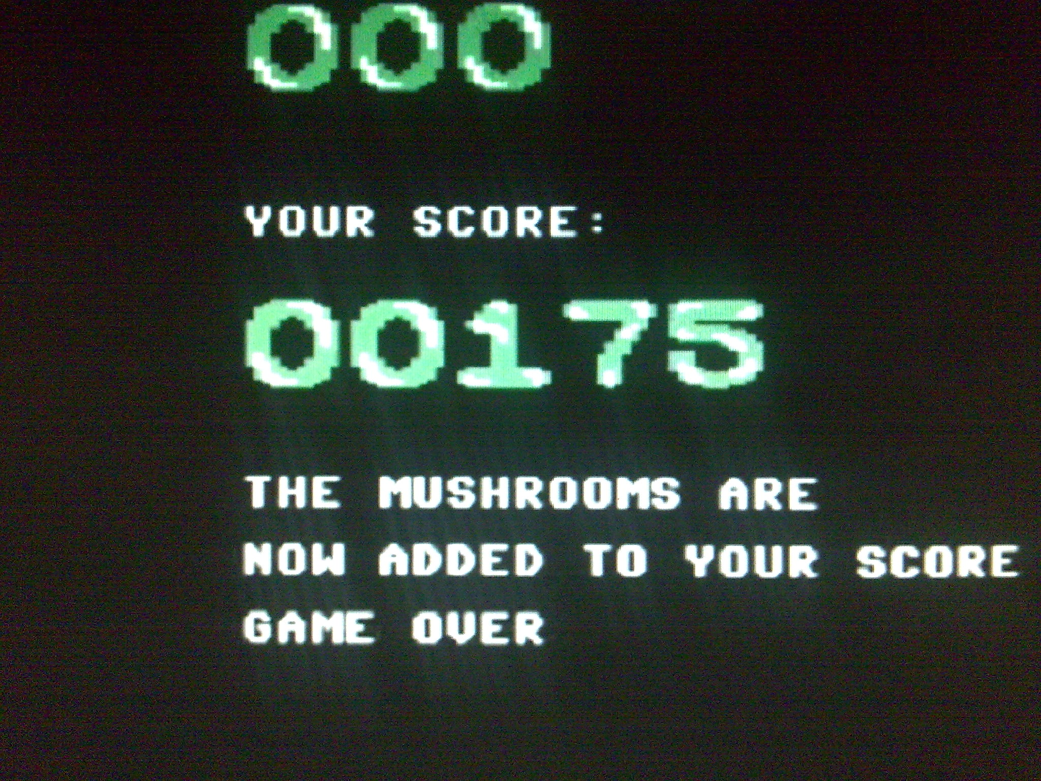 Fungus 175 points