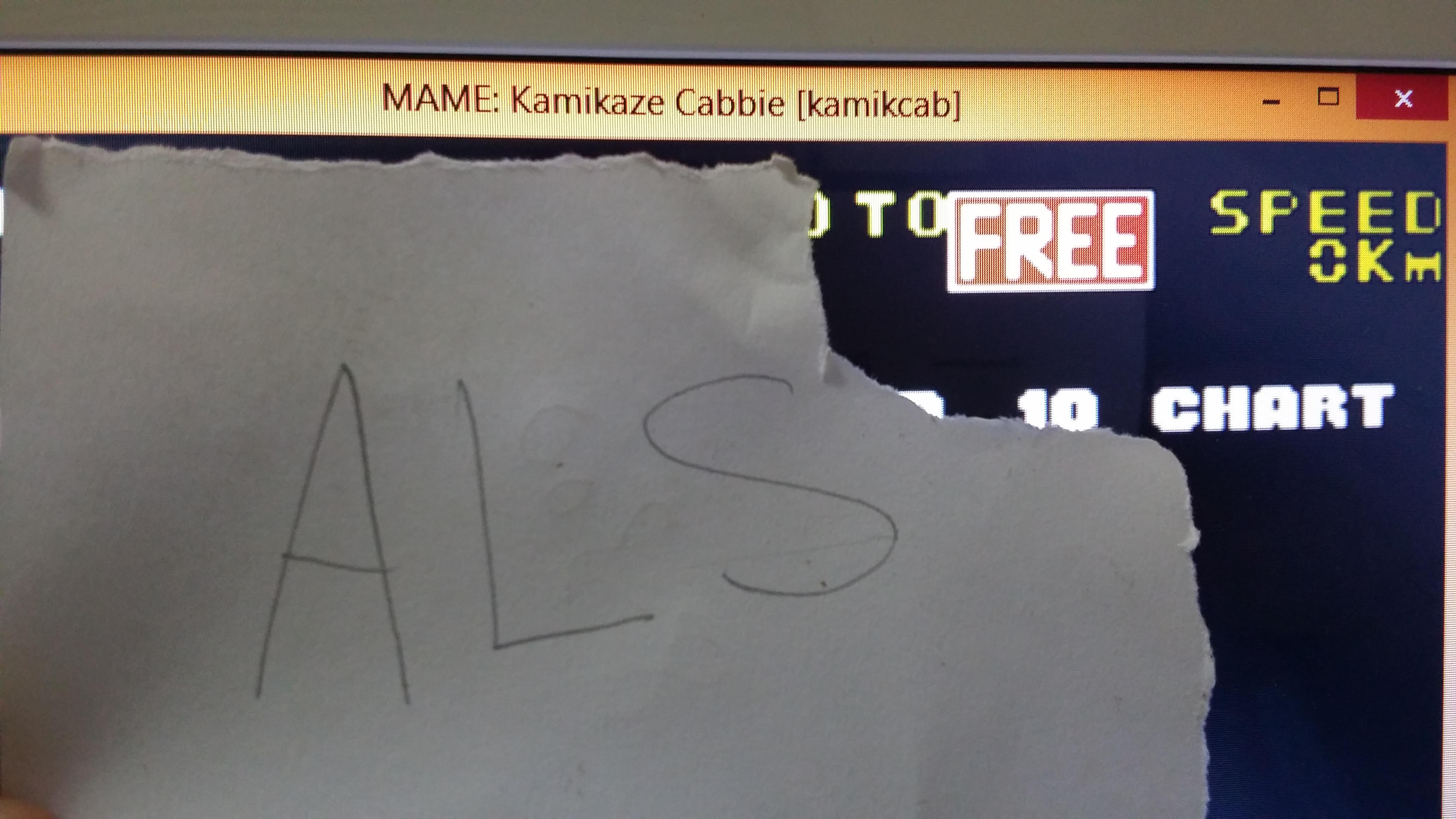 muscleandfitness: Kamikaze Cabbie (Arcade Emulated / M.A.M.E.) 10,400 points on 2014-06-13 06:04:50
