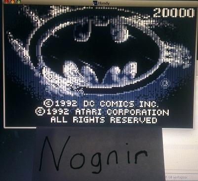 Nognir: Batman Returns (Atari Lynx Emulated) 20,000 points on 2014-06-13 10:35:46