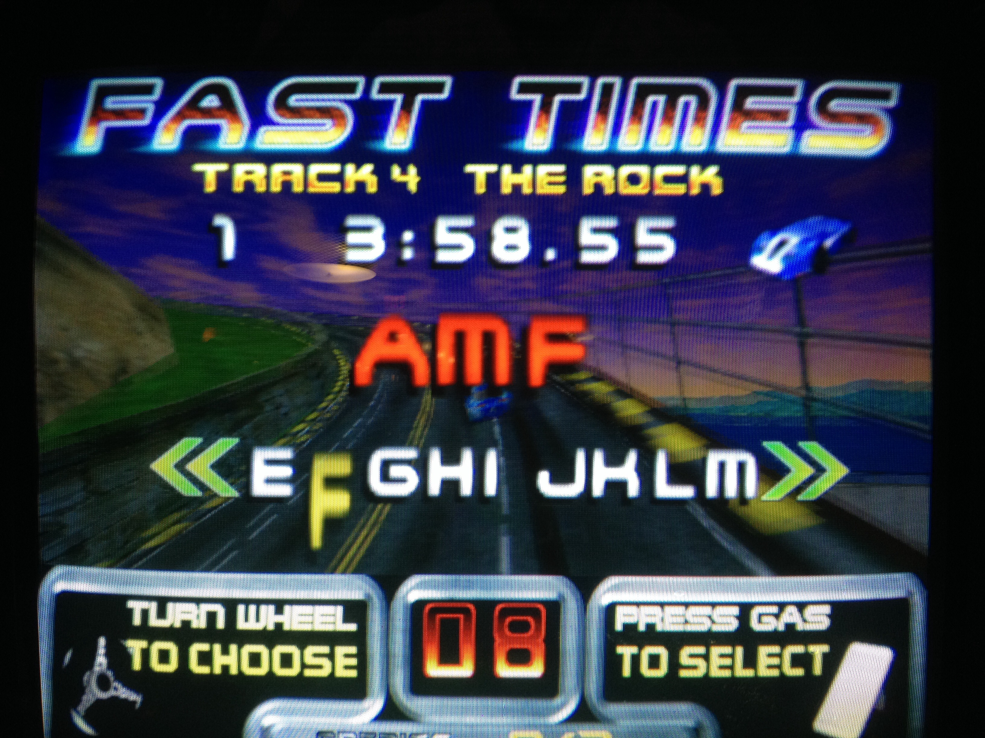 FosterAMF: San Francisco Rush: The Rock [Track 4] (Arcade) 0:03:58.55 points on 2014-06-13 13:12:38