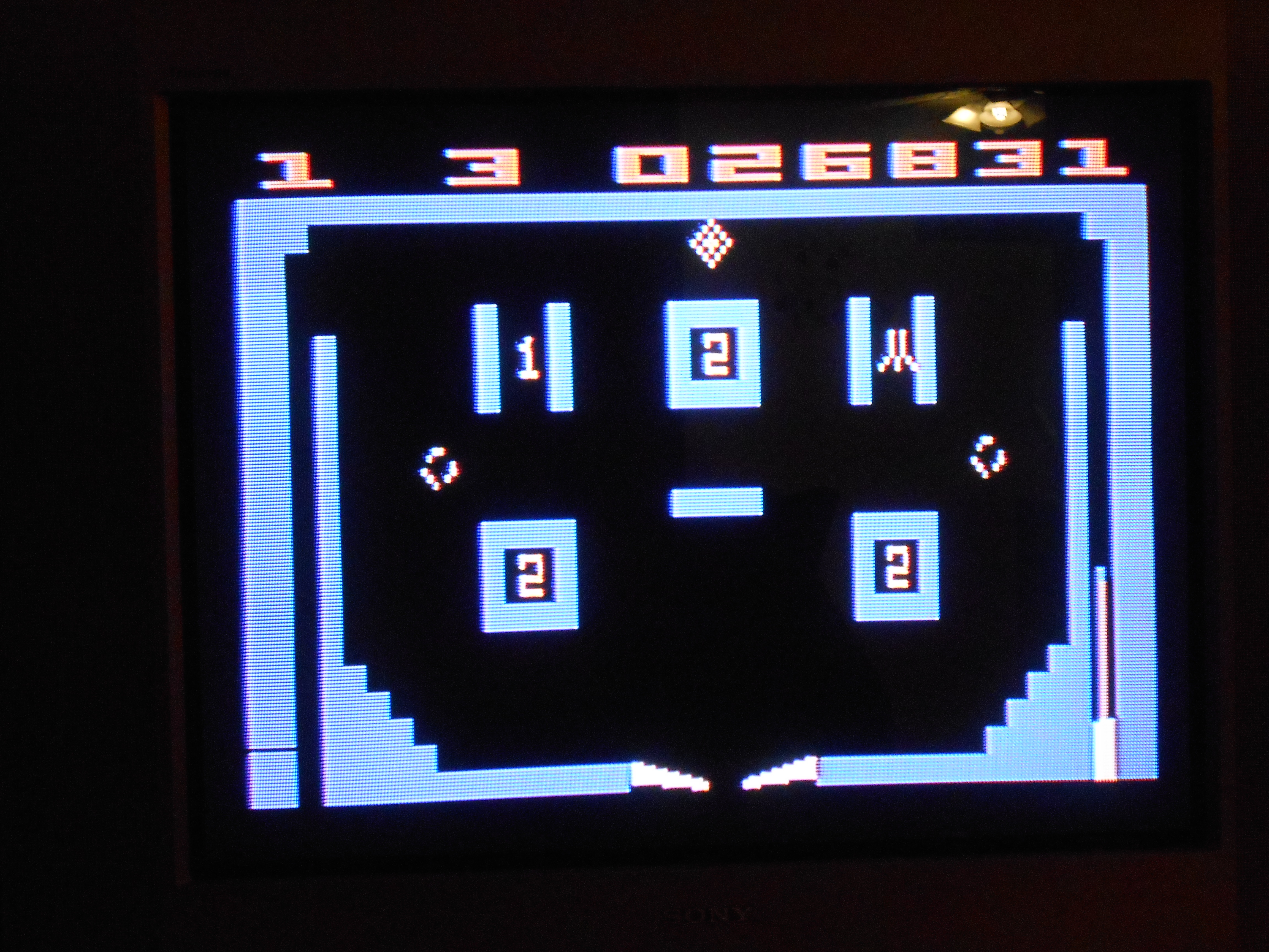 bombidragon: Video Pinball (Atari 2600 Novice/B) 26,831 points on 2013-09-27 23:41:37