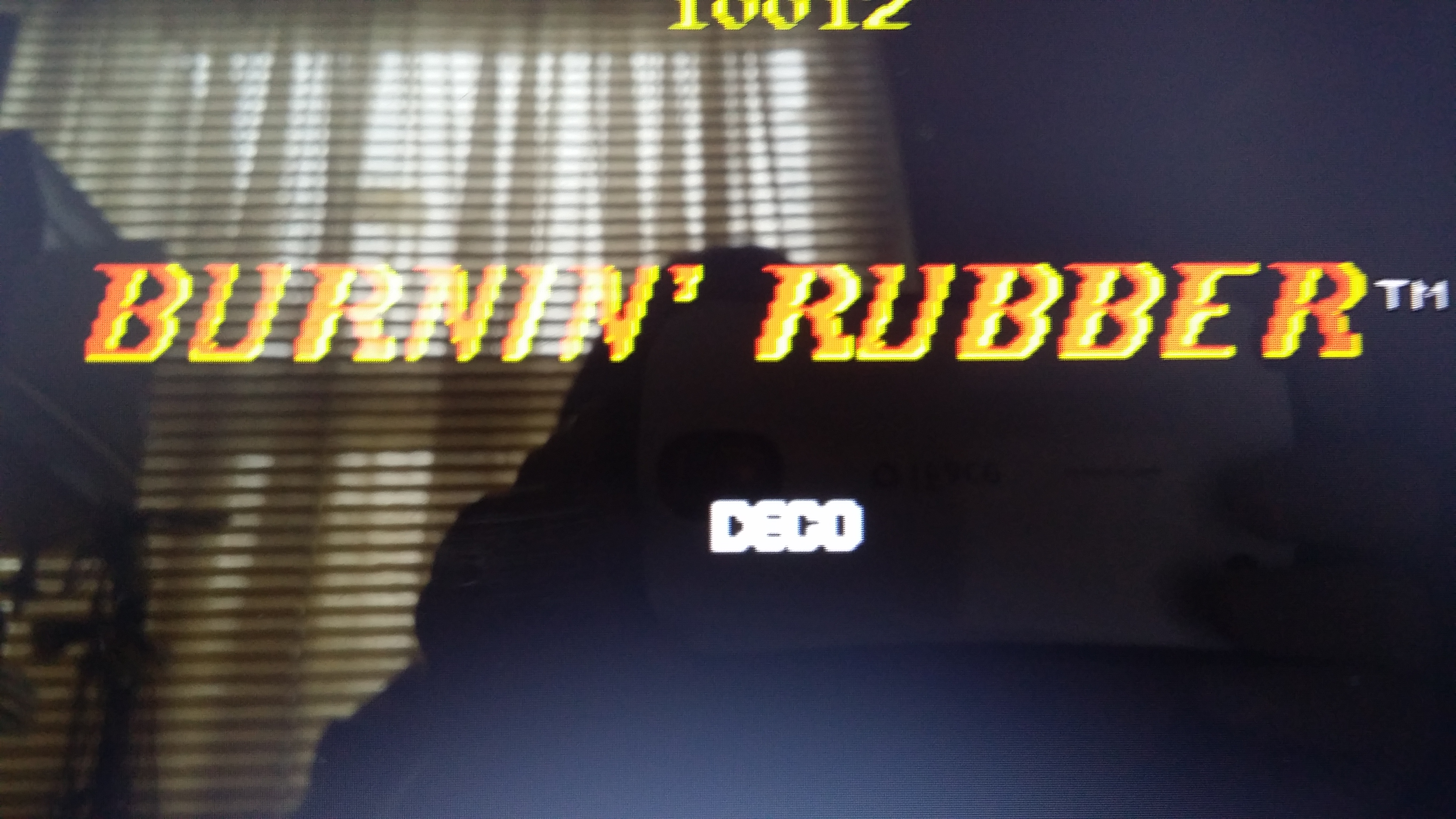 muscleandfitness: Burning Rubber (Arcade Emulated / M.A.M.E.) 12,600 points on 2014-06-14 20:27:27
