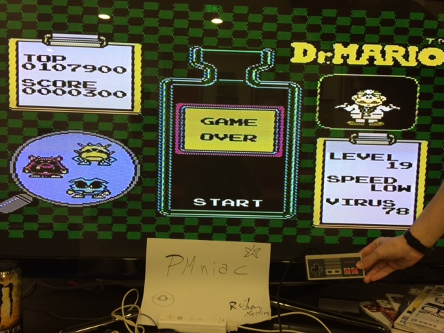 Dr. Mario 107,900 points