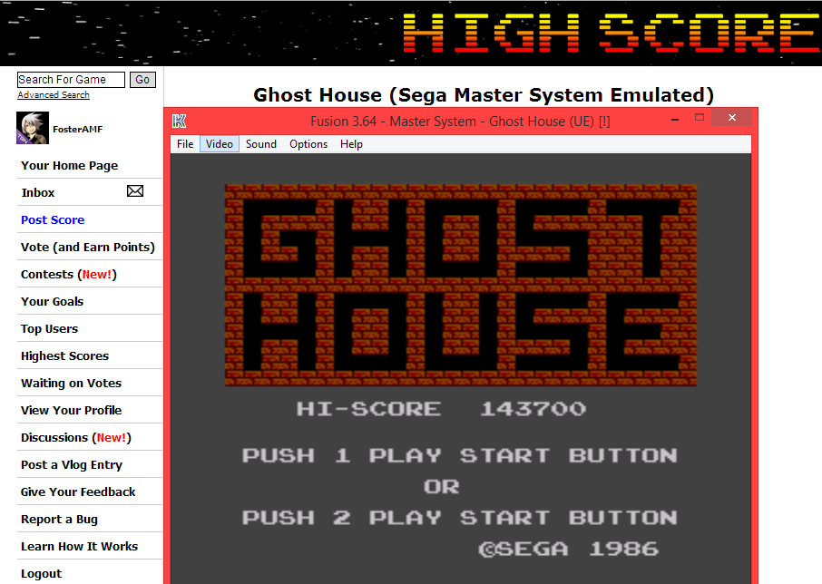 Ghost House 143,700 points