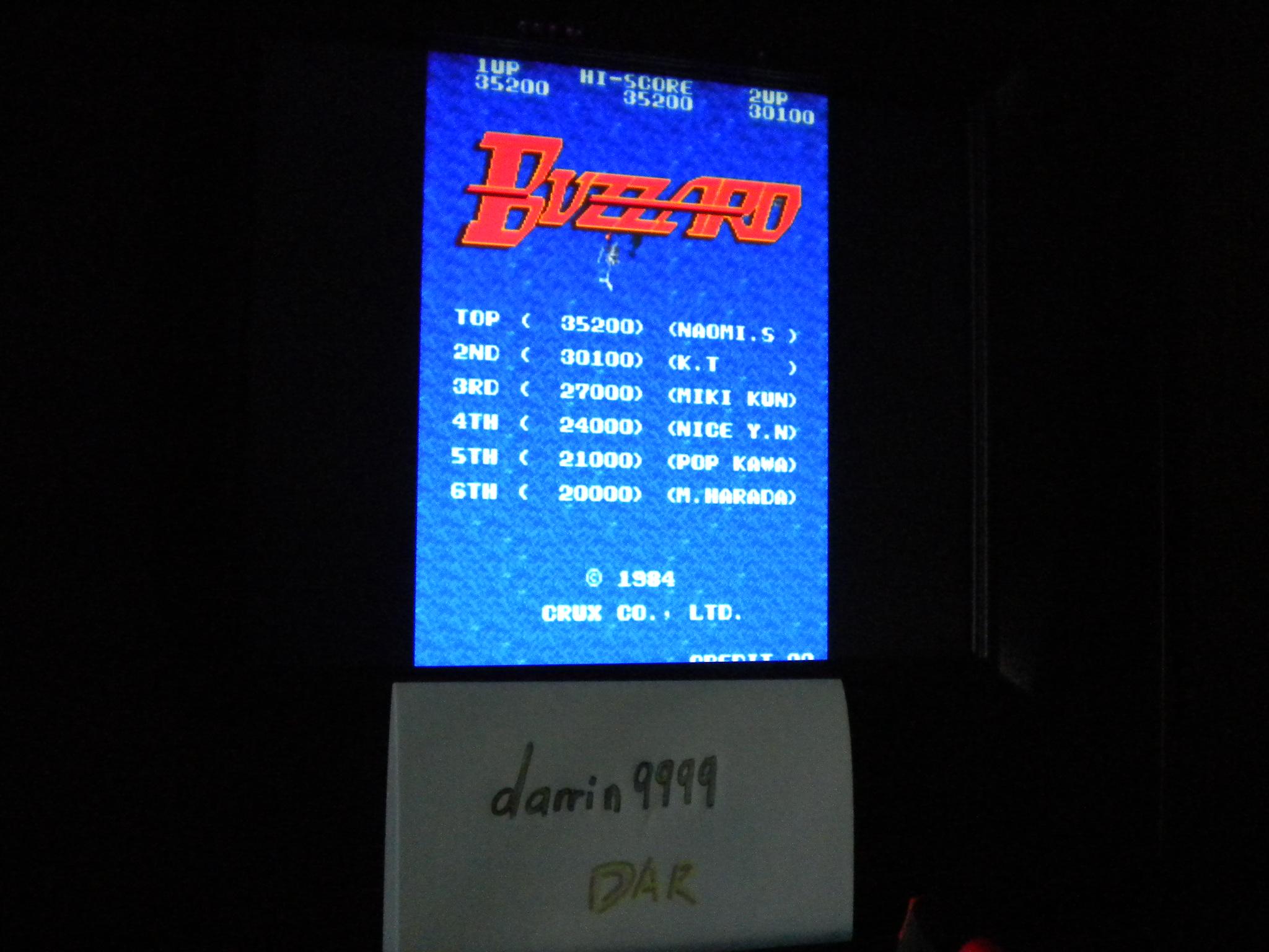 Buzzard 14,810 points