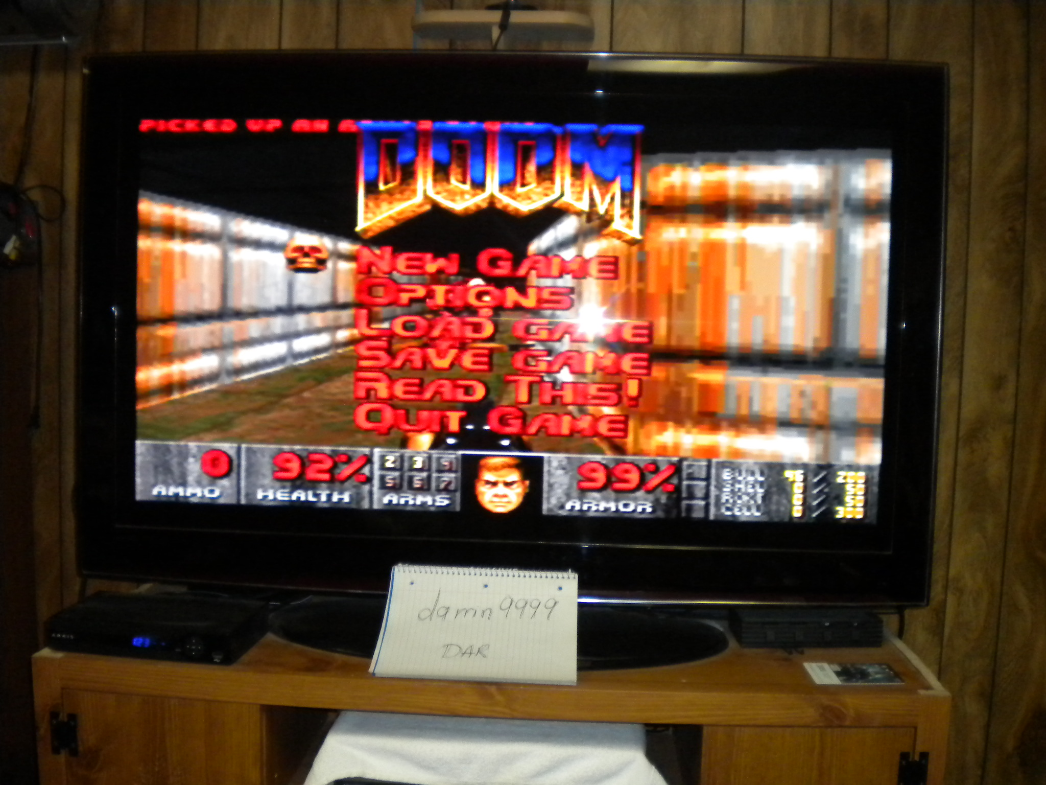 Doom: Hanger time of 0:07:16