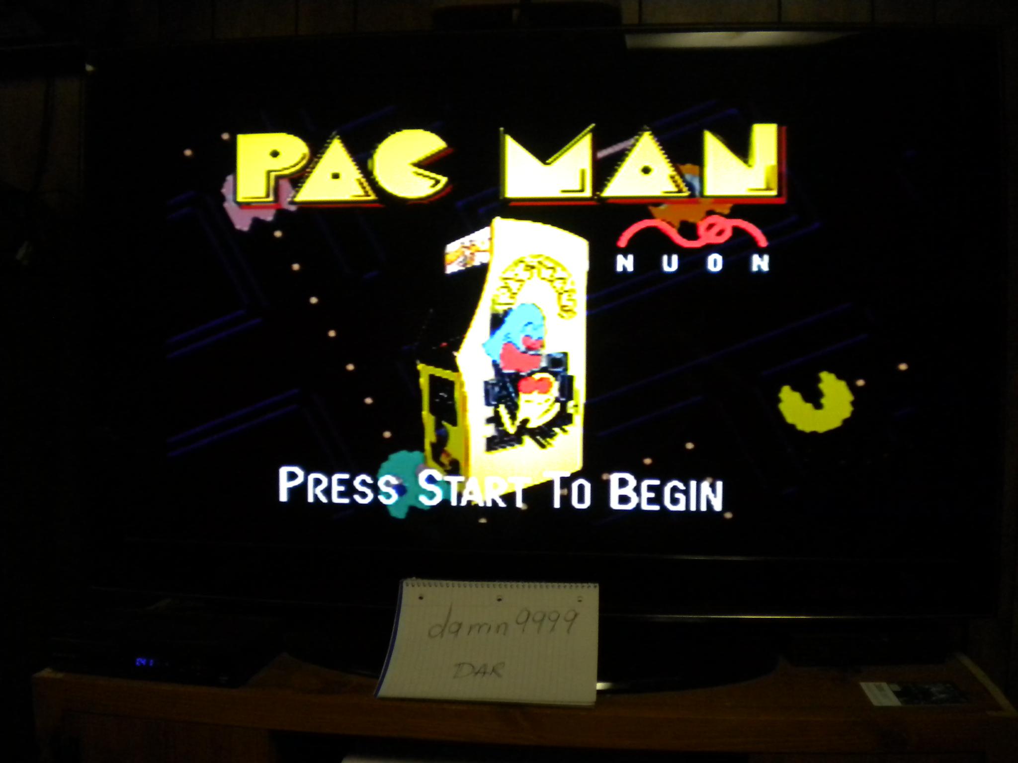 Pac-Man Tournament 10,860 points