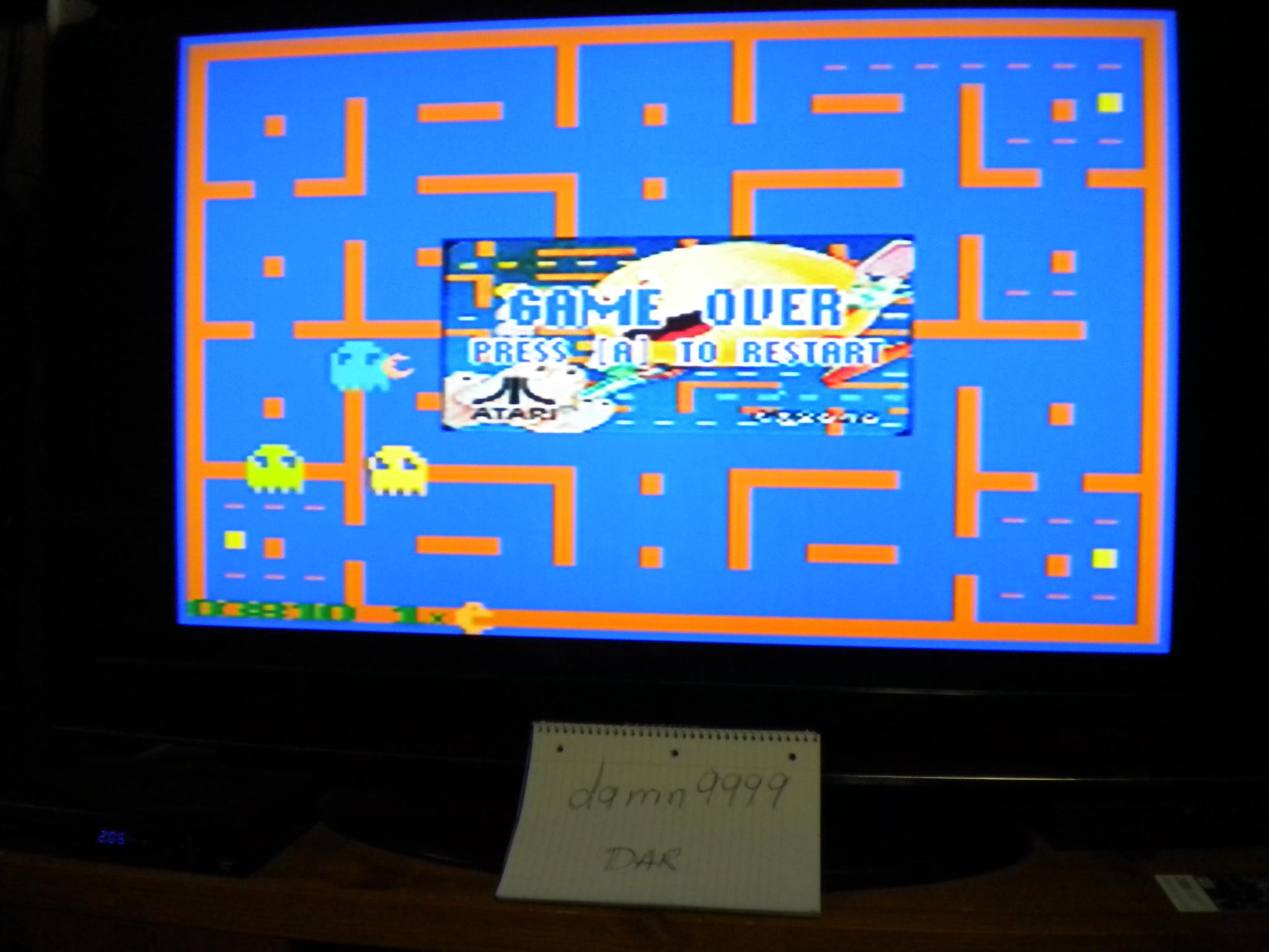 Pac-Man 2600 3,810 points