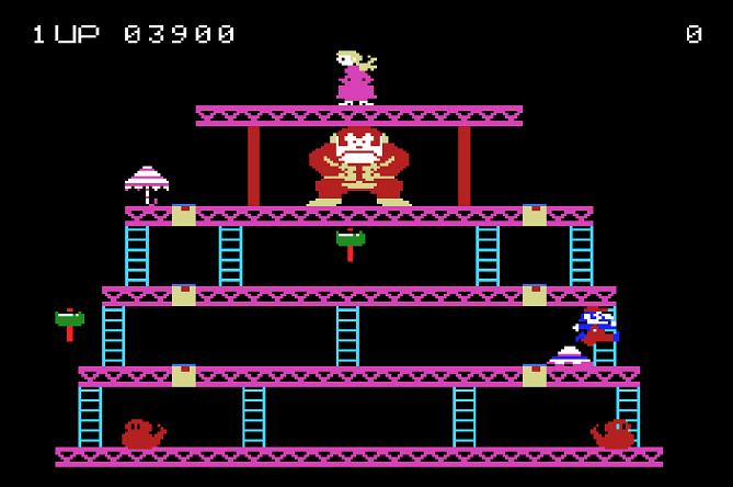 Donkey Kong 3,900 points