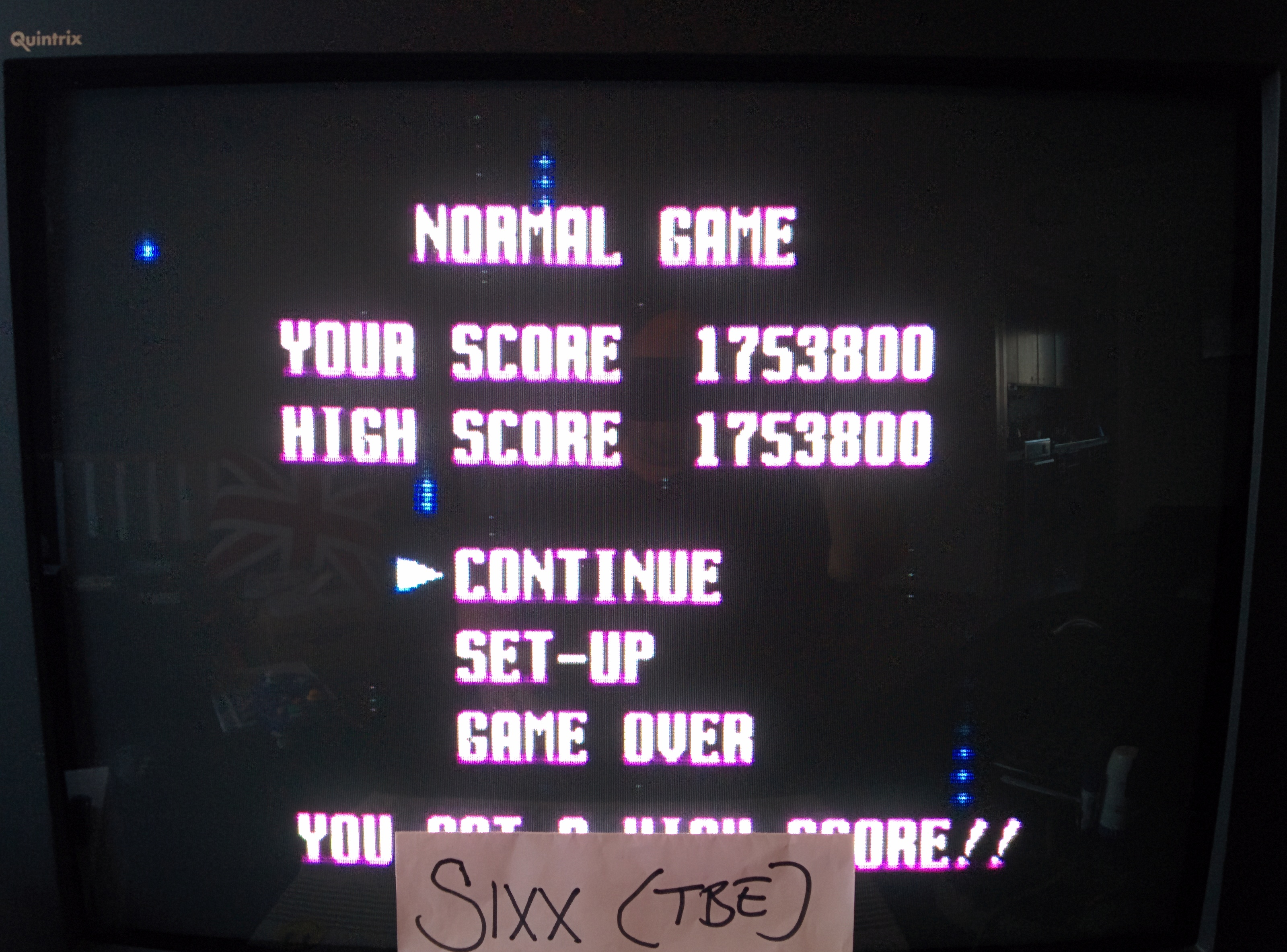 Sixx: Final Soldier (TurboGrafx-16/PC Engine Emulated) 1,753,800 points on 2014-06-18 15:00:42